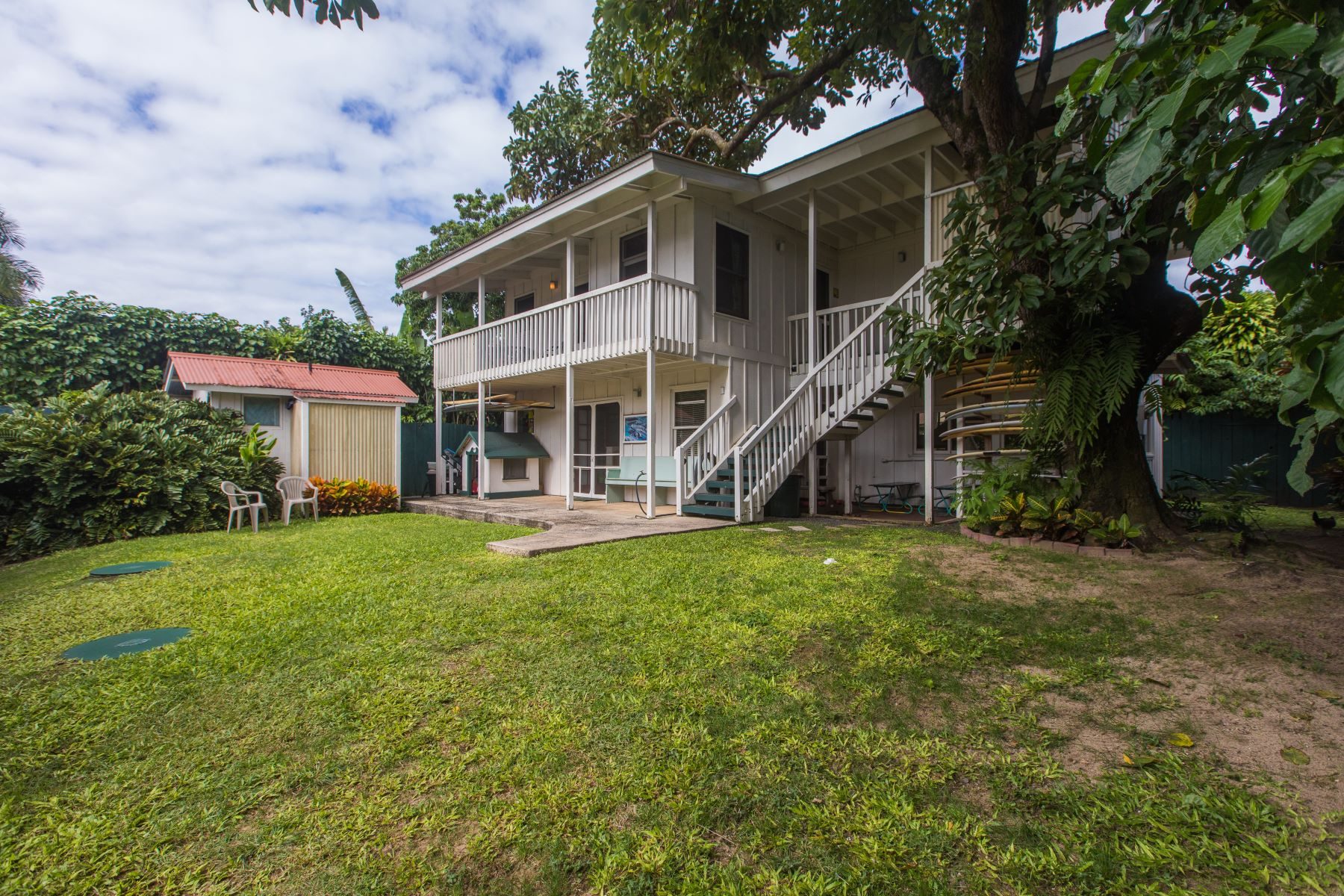 Single Family Home for Sale at Hanalei 5-5428 Kuhio Highway #A & #B, Hanalei, Hawaii, 96714 United States