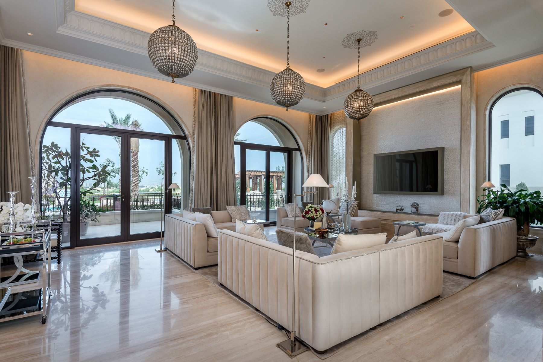 Single Family Home for Sale at RARE MANSION GOLF COURSE & BURJ VIEWS Other Dubai, Dubai United Arab Emirates
