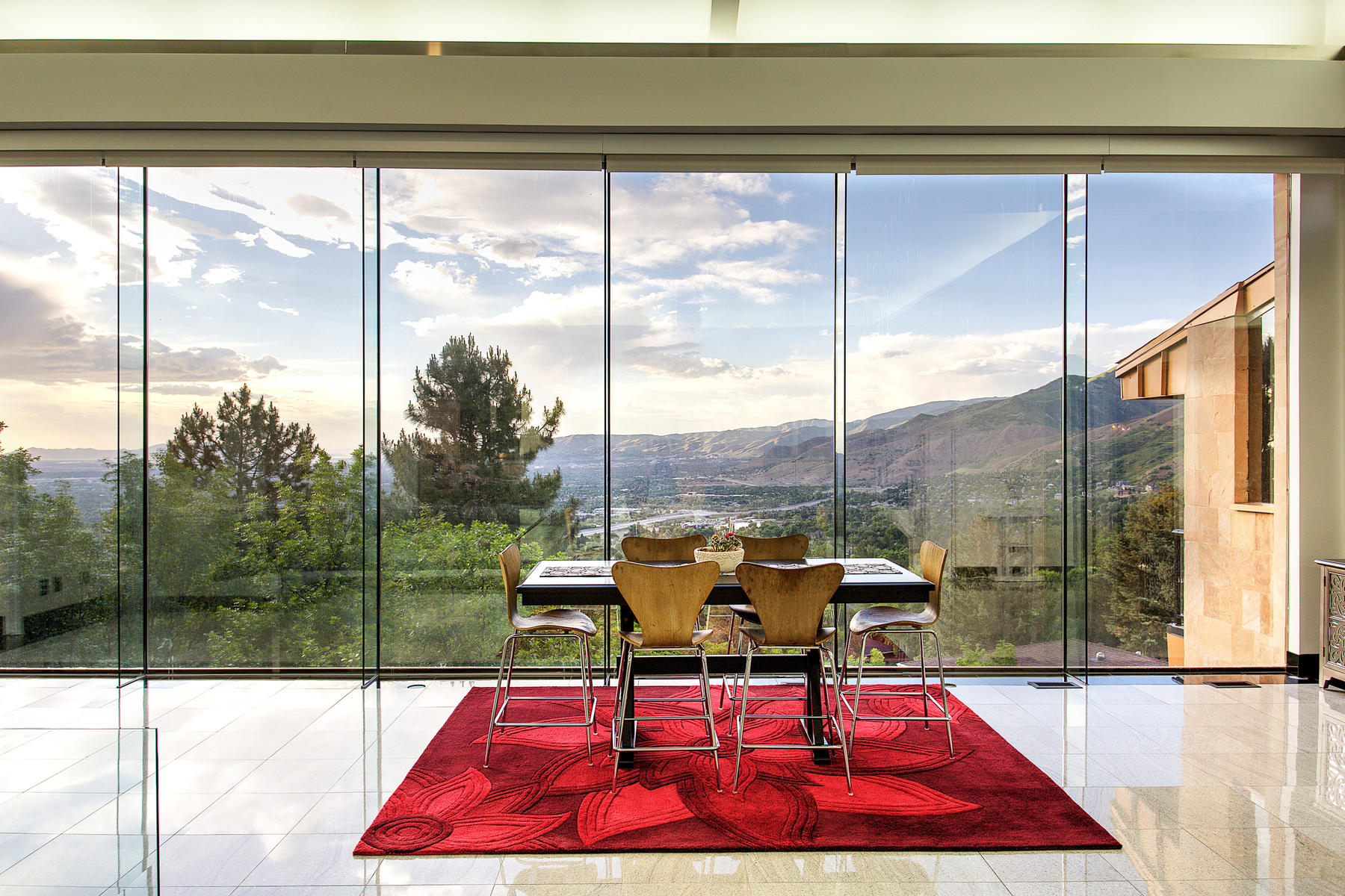 Single Family Homes for Sale at Salt Lake City Contemporary With Incredible Views 3809 E Thousand Oaks Cir Salt Lake City, Utah 84124 United States