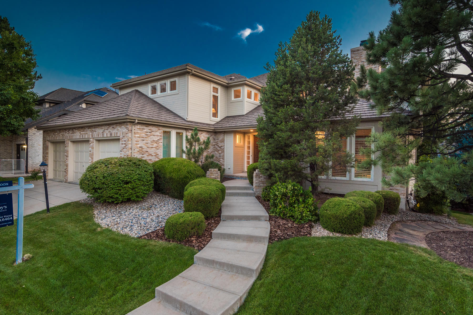 Single Family Homes por un Venta en Heritage Greens 7937 S Fairfax Ct, Centennial, Colorado 80122 Estados Unidos