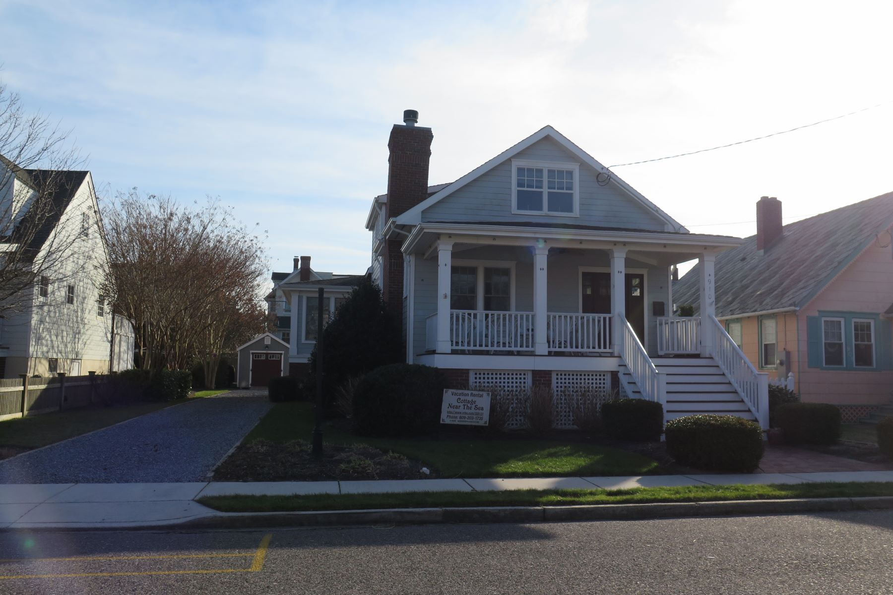 Single Family Home for Sale at 910 Stockton 910 Stockton AVe Cape May, New Jersey 08204 United States