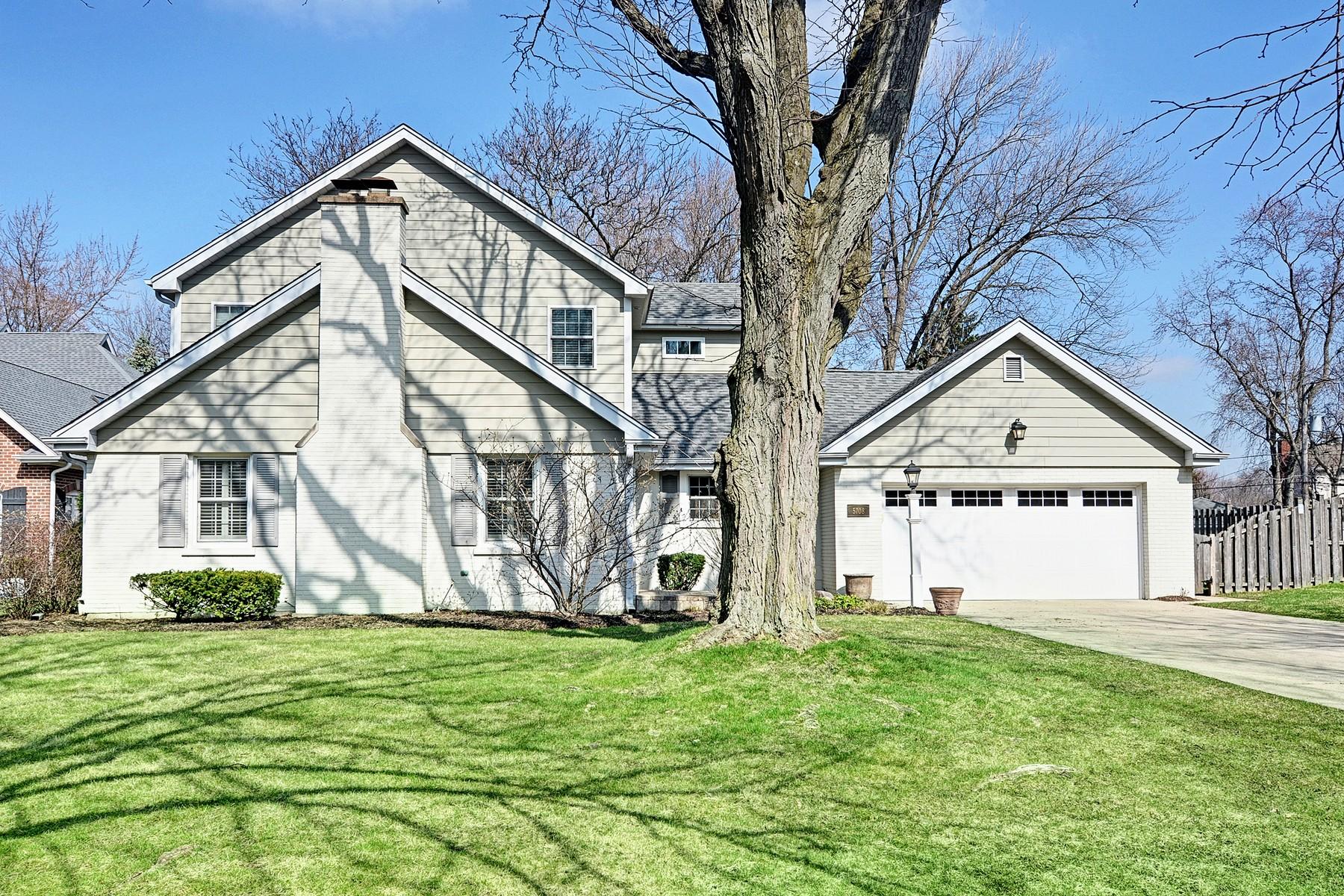 Maison unifamiliale pour l Vente à 5708 Crestview 5708 Crestview Drive Western Springs, Illinois, 60558 États-Unis