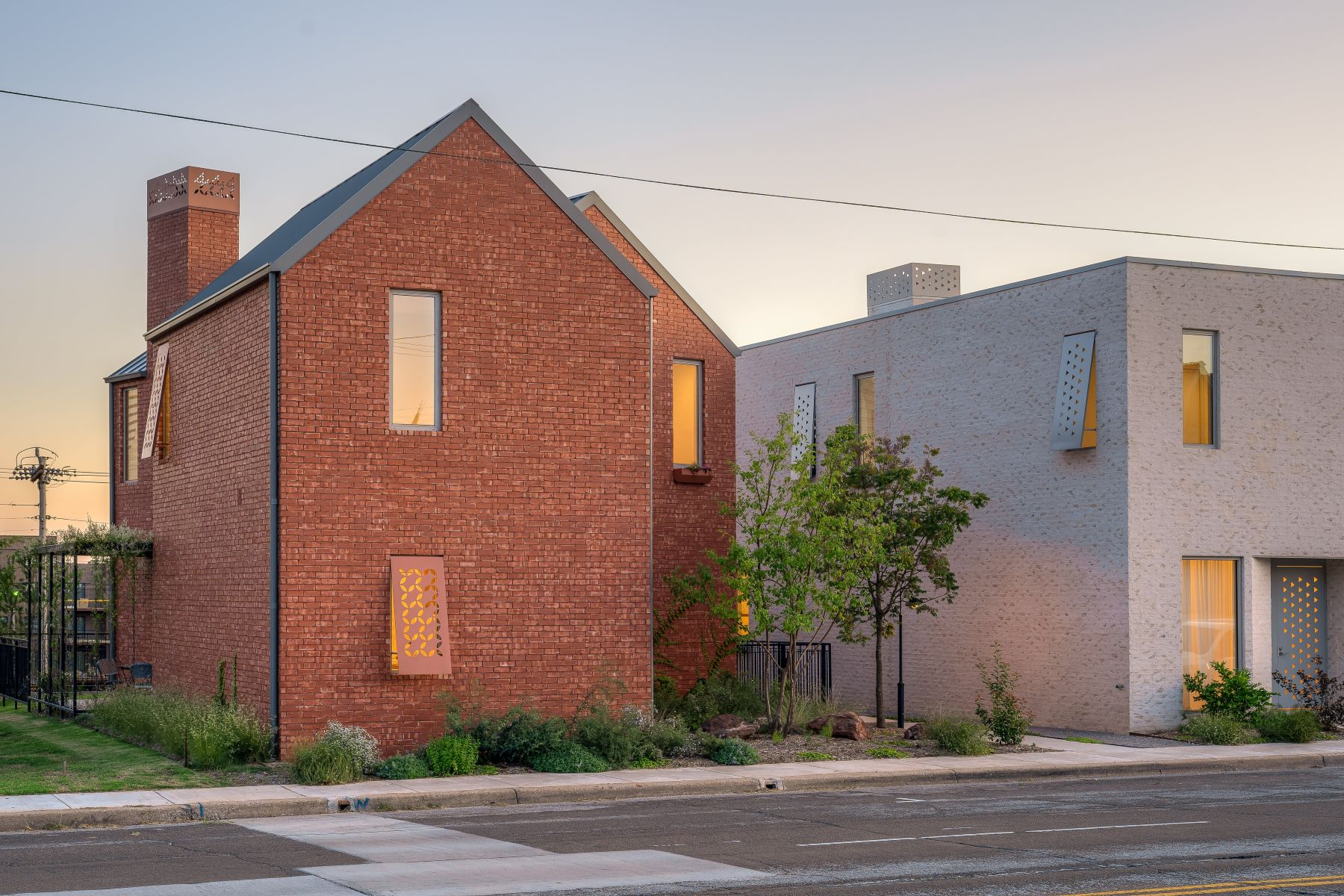 Single Family Homes for Active at A Modernist's Dream 612 NW 6th Street Oklahoma City, Oklahoma 73102 United States