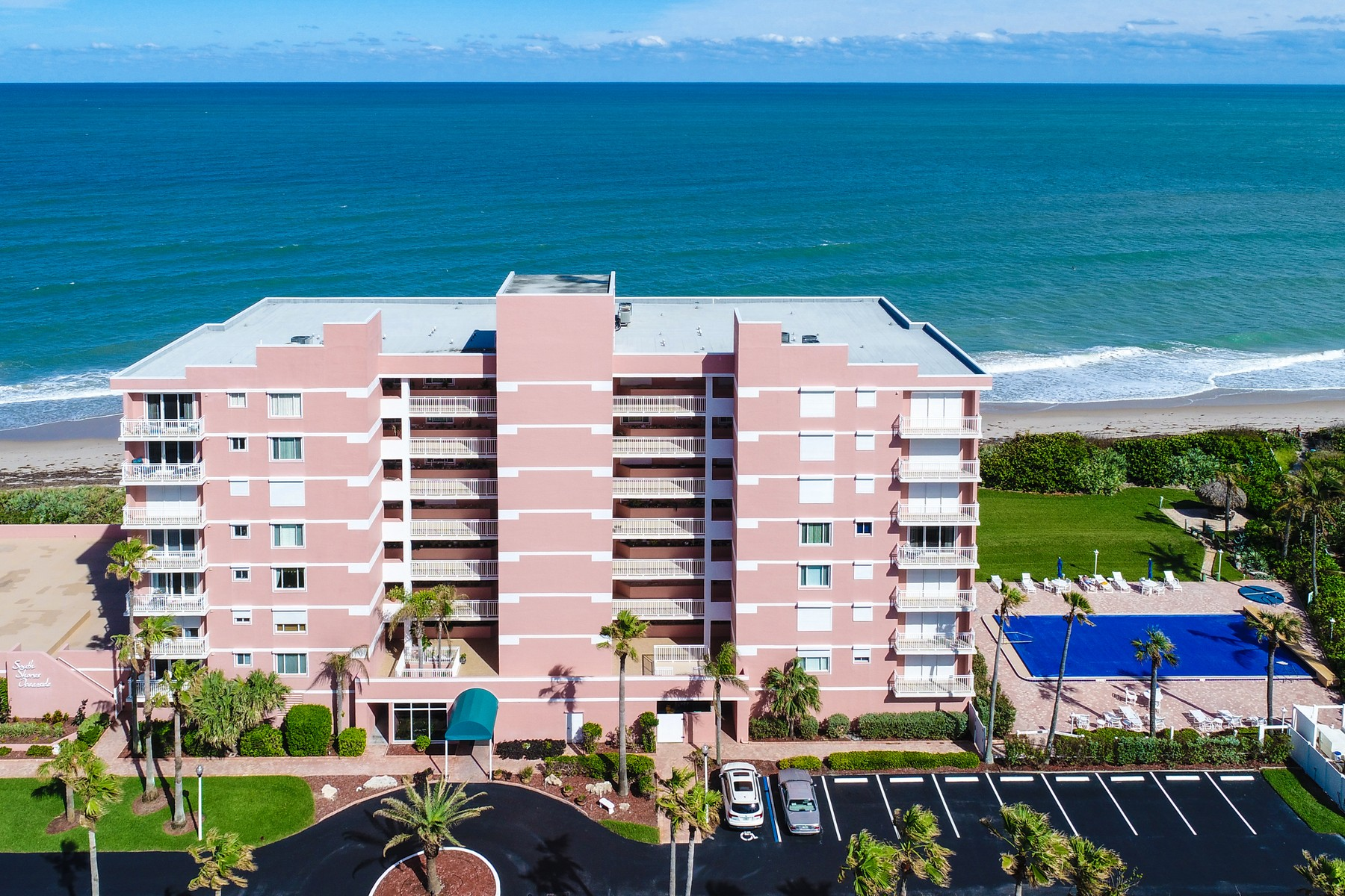 Condominium for Sale at South Shores Oceanside Condo 5635 S Highway A1A #803 Melbourne Beach, Florida 32951 United States