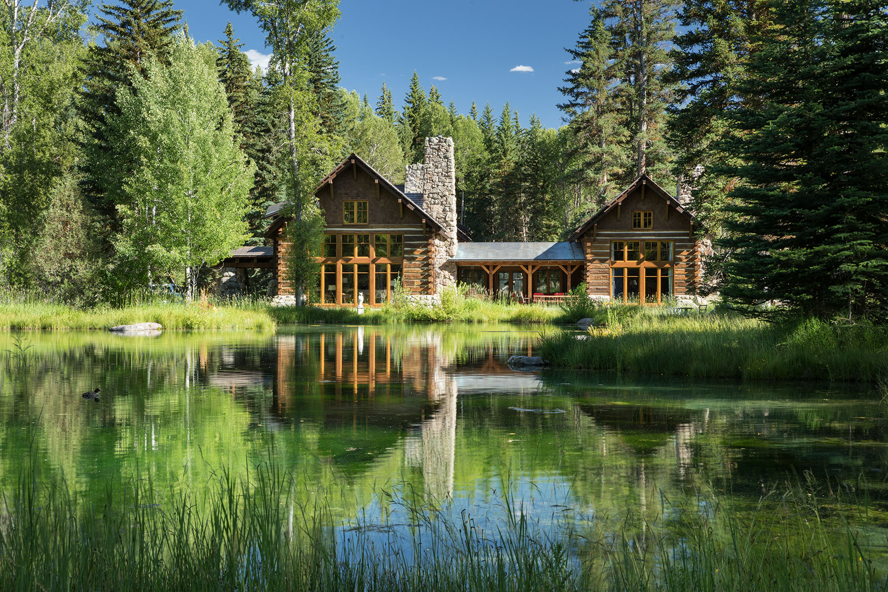 Single Family Homes for Active at Architectural Masterpiece in Ely Springs 1275 S Ely Springs Road Jackson, Wyoming 83001 United States