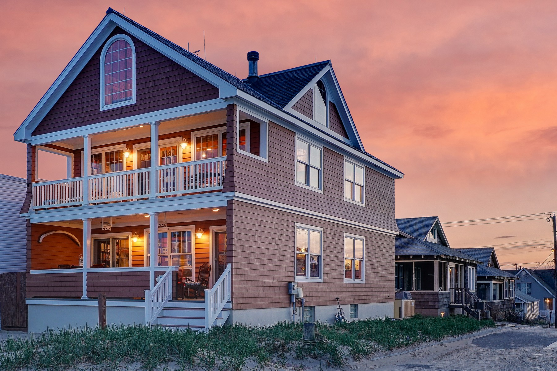 Single Family Home for Sale at Custom Beachfront 145 Beachfront Manasquan, 08736 United States