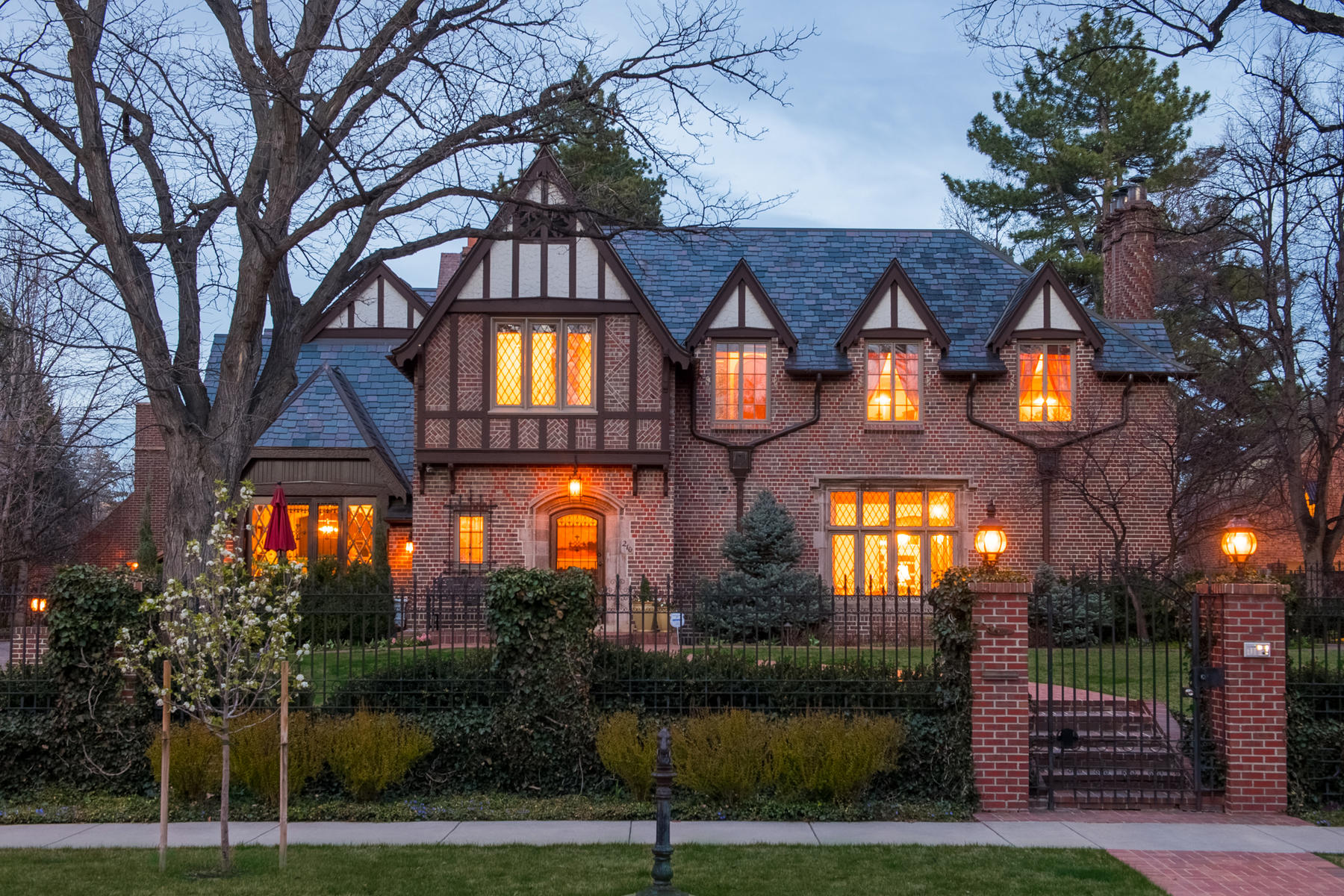 Single Family Home for Active at This Stately Tudor Home Is One Of Country Club's Finest Properties 210 Vine Street Denver, Colorado 80206 United States