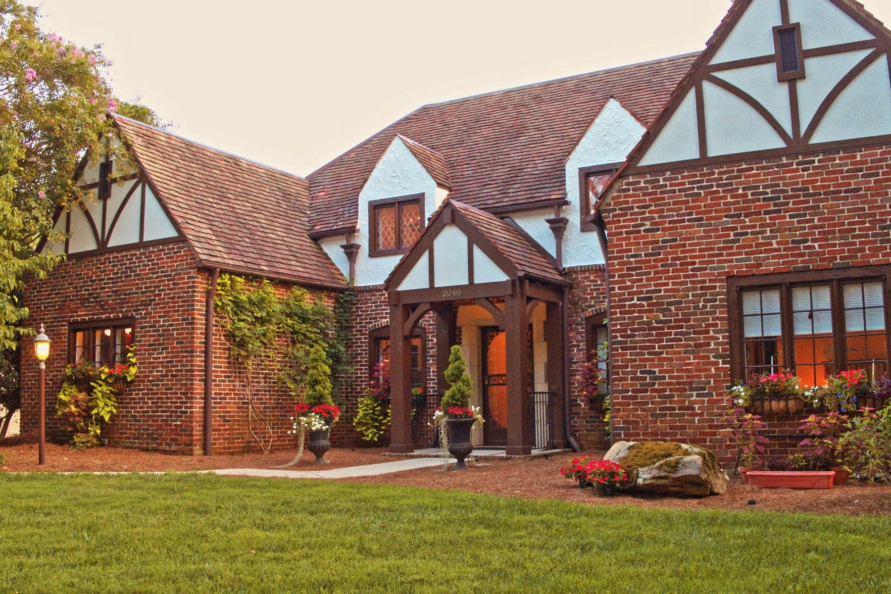 single family homes for Sale at Stately Tudor Style Home on Cherokee Boulevard 2048 Cherokee Boulevard Knoxville, Tennessee 37919 United States