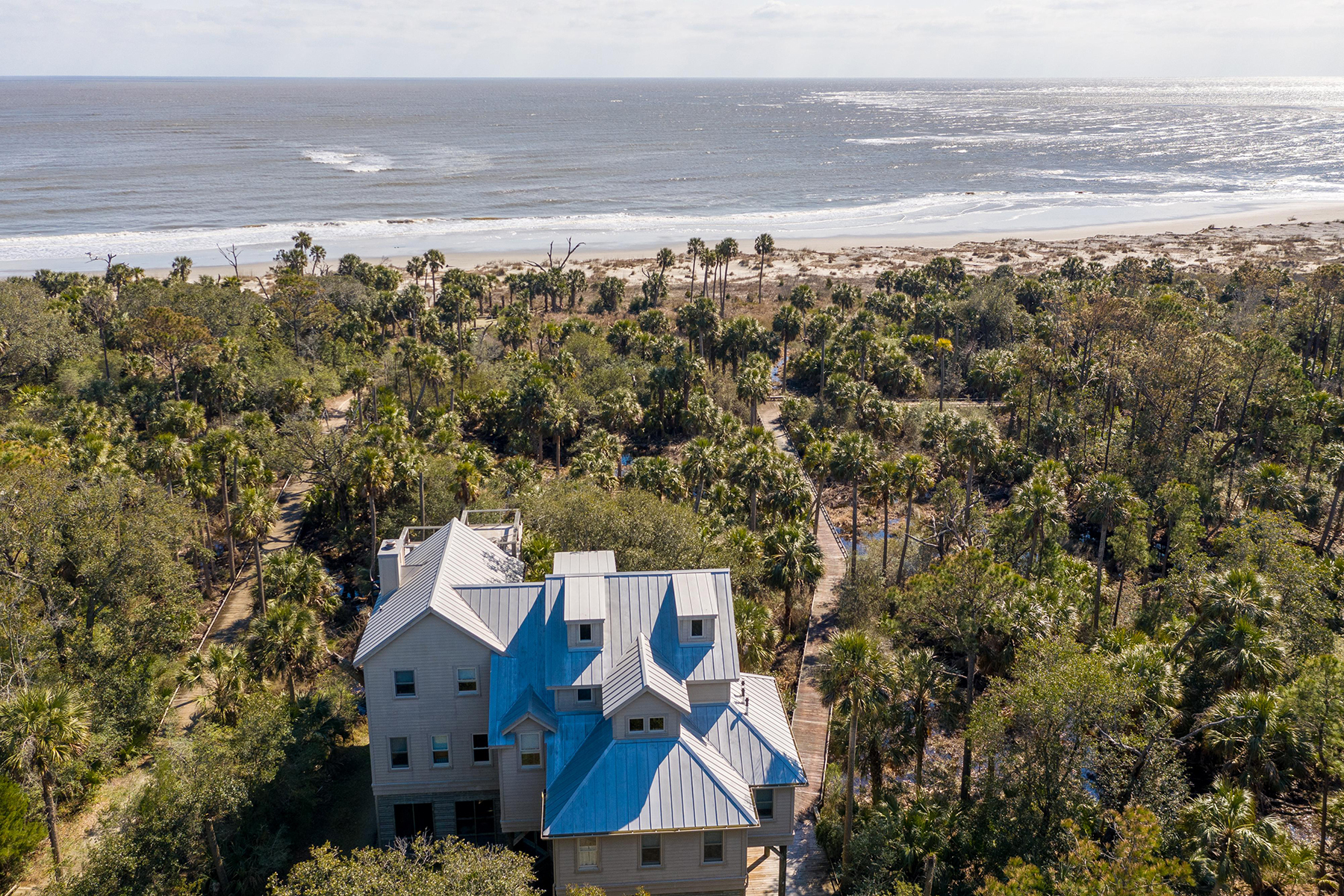 Single Family Homes for Active at 311 Pelican Flight Drive Dewees Island, South Carolina 29451 United States