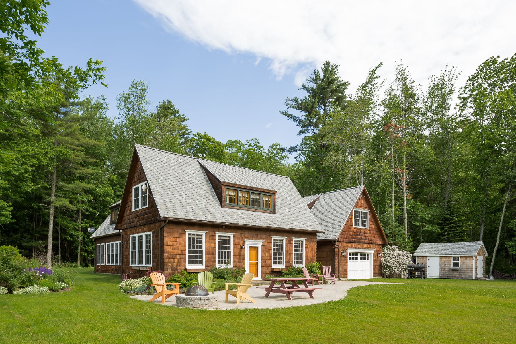 Single Family Home for Sale at 6 Country Way Camden, Maine, 04843 United States