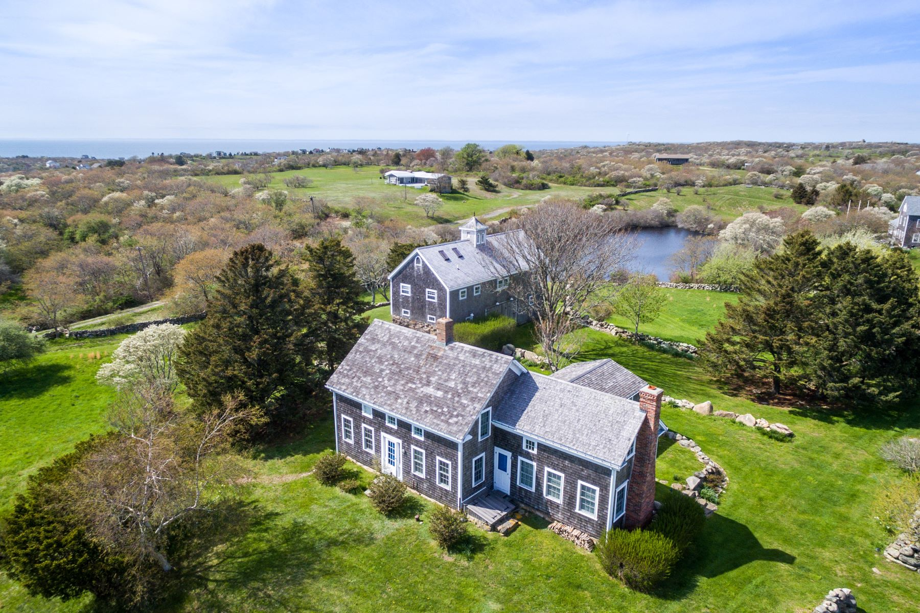 Single Family Homes for Sale at 883 Cooneymus Road Block Island, Rhode Island 02807 United States