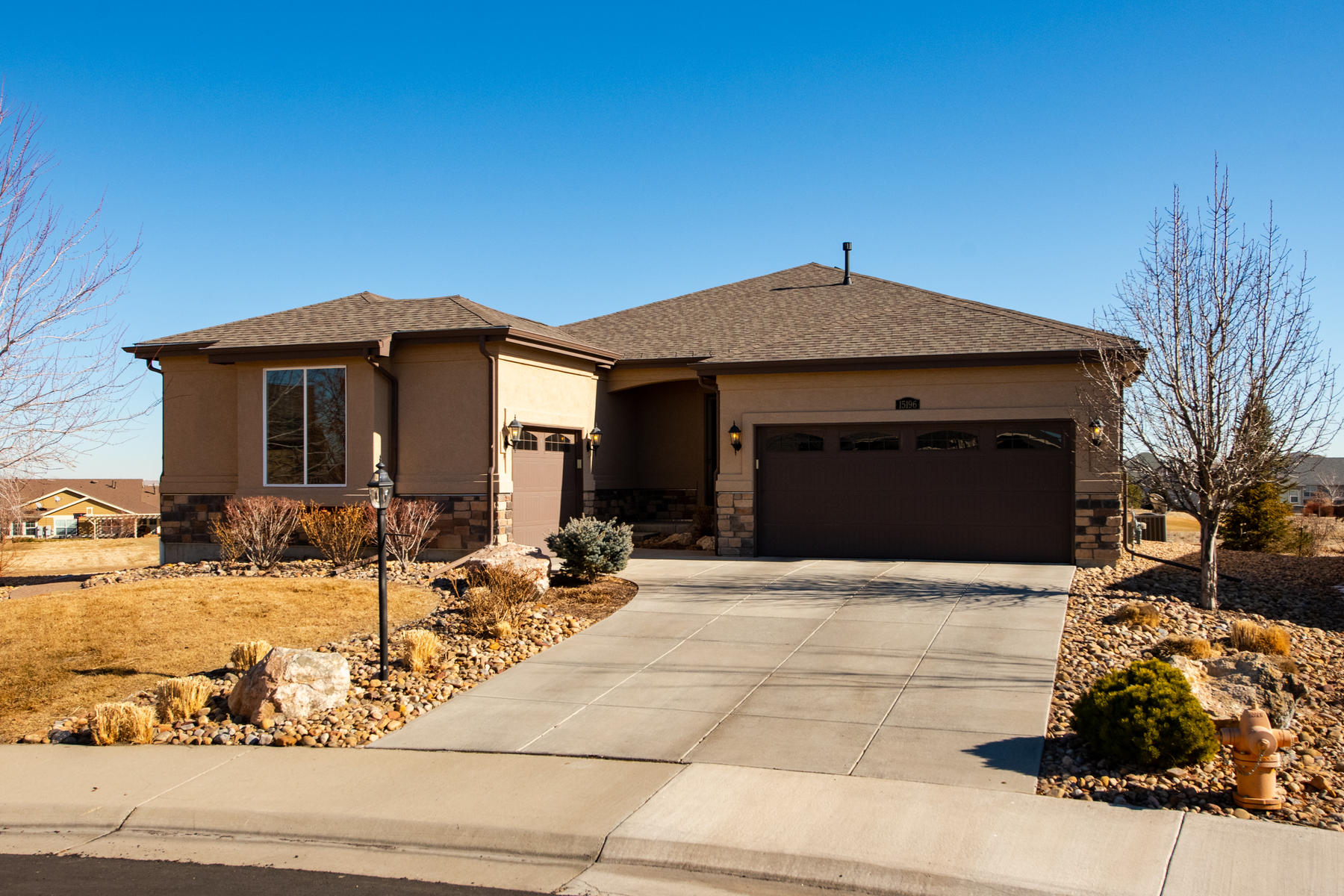 Single Family Homes for Sale at Bright And Open Ranch In Golf Course Community 15196 Willow Dr Thornton, Colorado 80602 United States