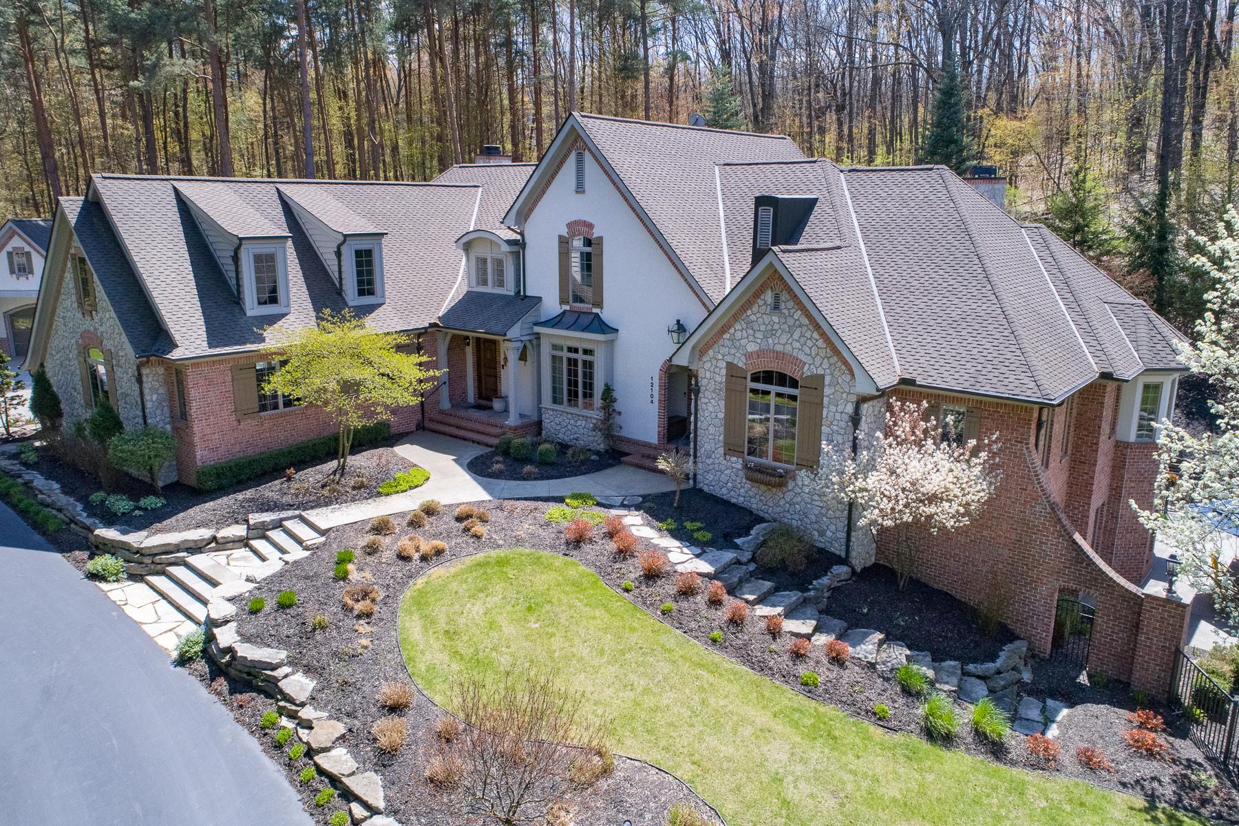 Single Family Homes 为 销售 在 Fenton 12104 Indian Oak Trail Fenton, 密歇根州 48430 美国