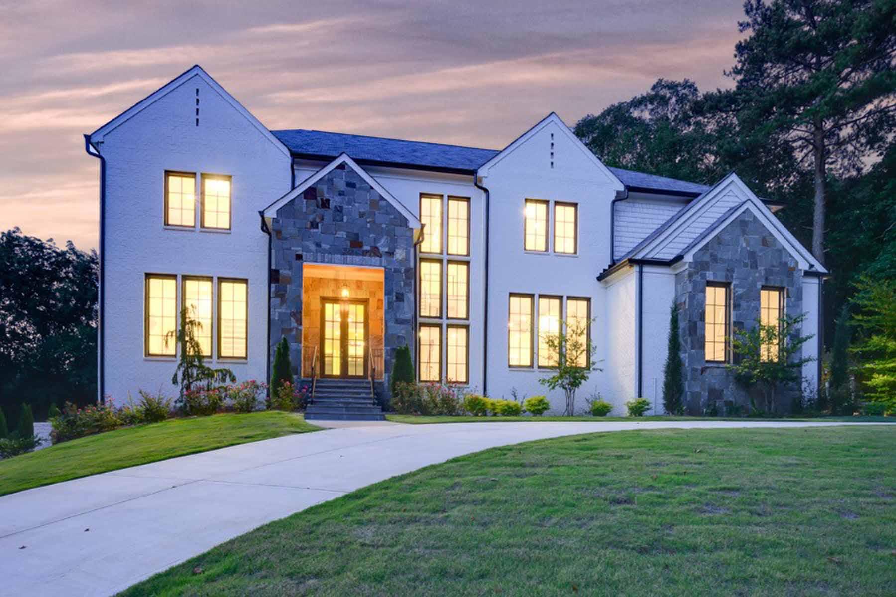 Single Family Homes 용 매매 에 Sophisticated Atlanta Country Club Elegance 510 Brook Hollow Circle SE, Marietta, 조지아 30067 미국