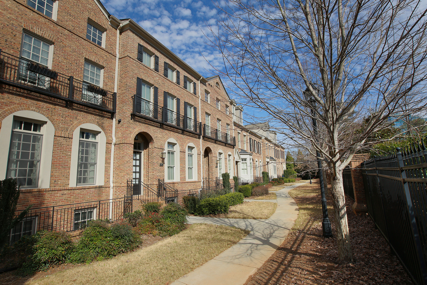 Townhouse for Sale at Gorgeous Executive Townhome 687 Lockton Place NE Atlanta, Georgia 30342 United States