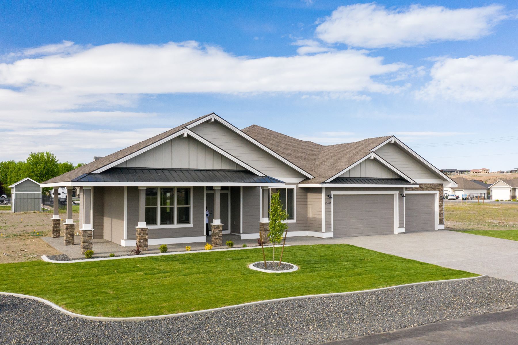 Single Family Homes for Sale at Infinity at Burns Estates 12415 Hunter Pasco, Washington 99301 United States