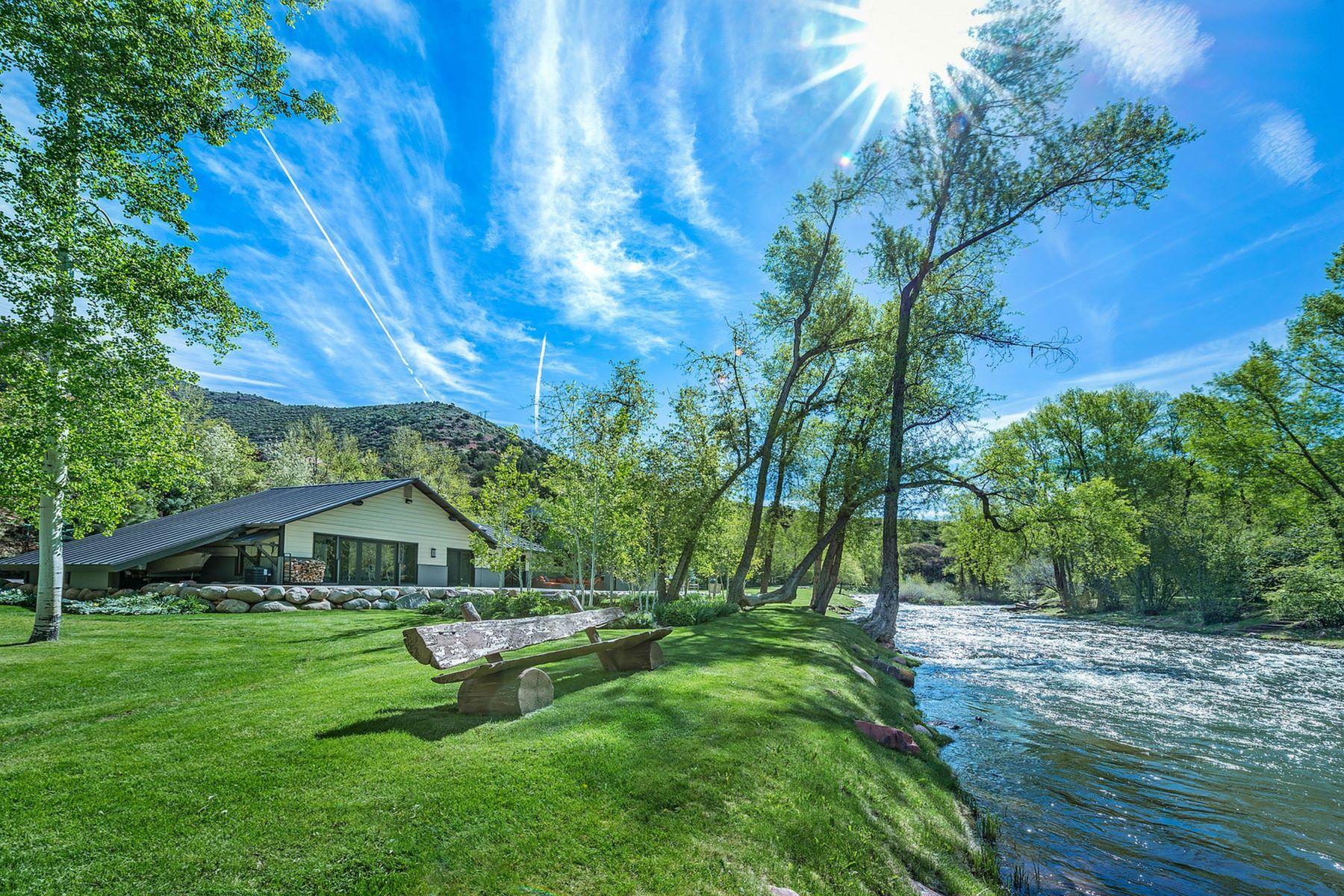 Single Family Homes para Venda às Starlight River Ranch 7800 Frying Pan Road, Basalt, Colorado 81621 Estados Unidos