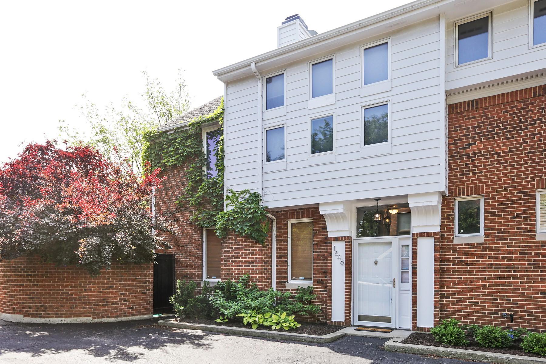 多棟聯建住宅 為 出售 在 Sunny and Bright End-Unit Townhome 1646 N Larrabee Street Chicago, 伊利諾斯州, 60614 美國
