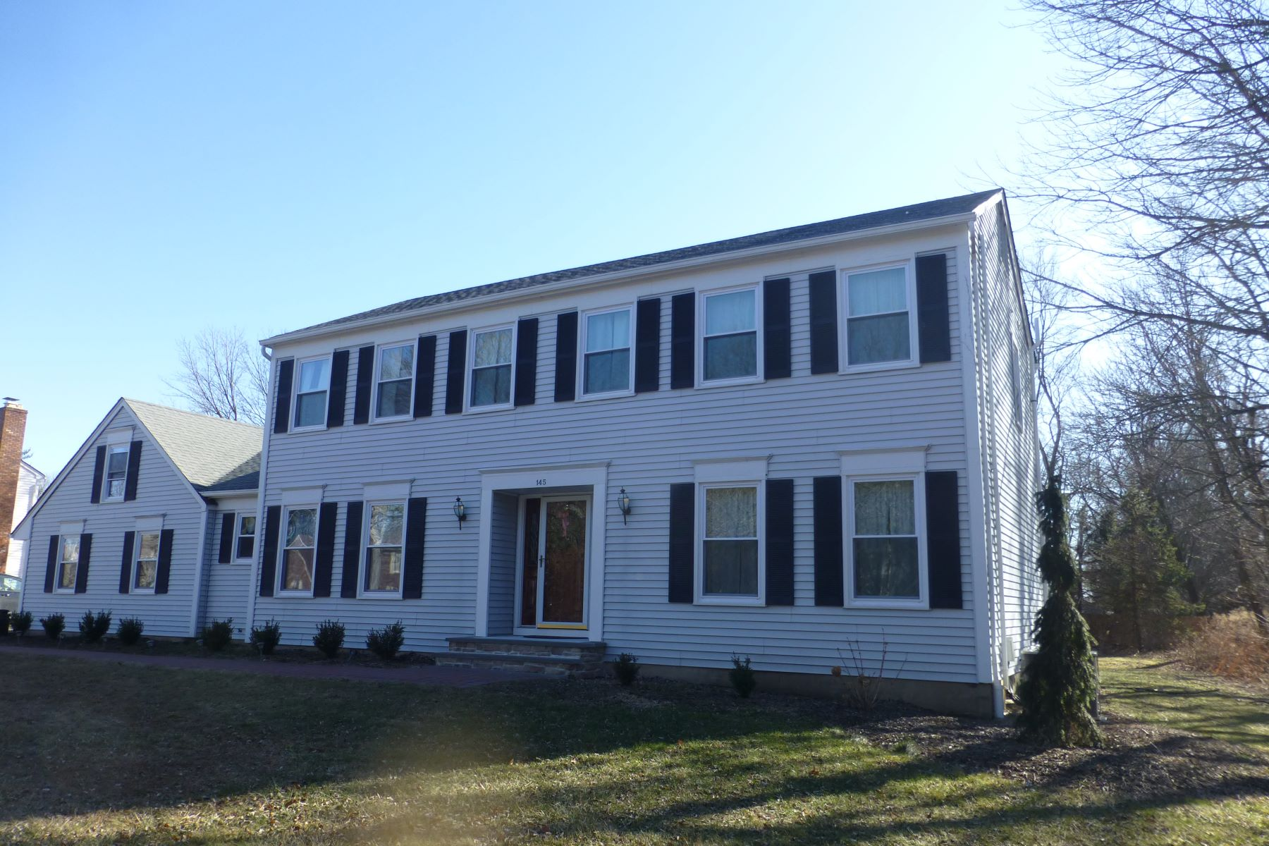 Single Family Homes for Sale at Move Right Into This Long Valley Colonial 145 Flocktown Road, Long Valley, New Jersey 07853 United States