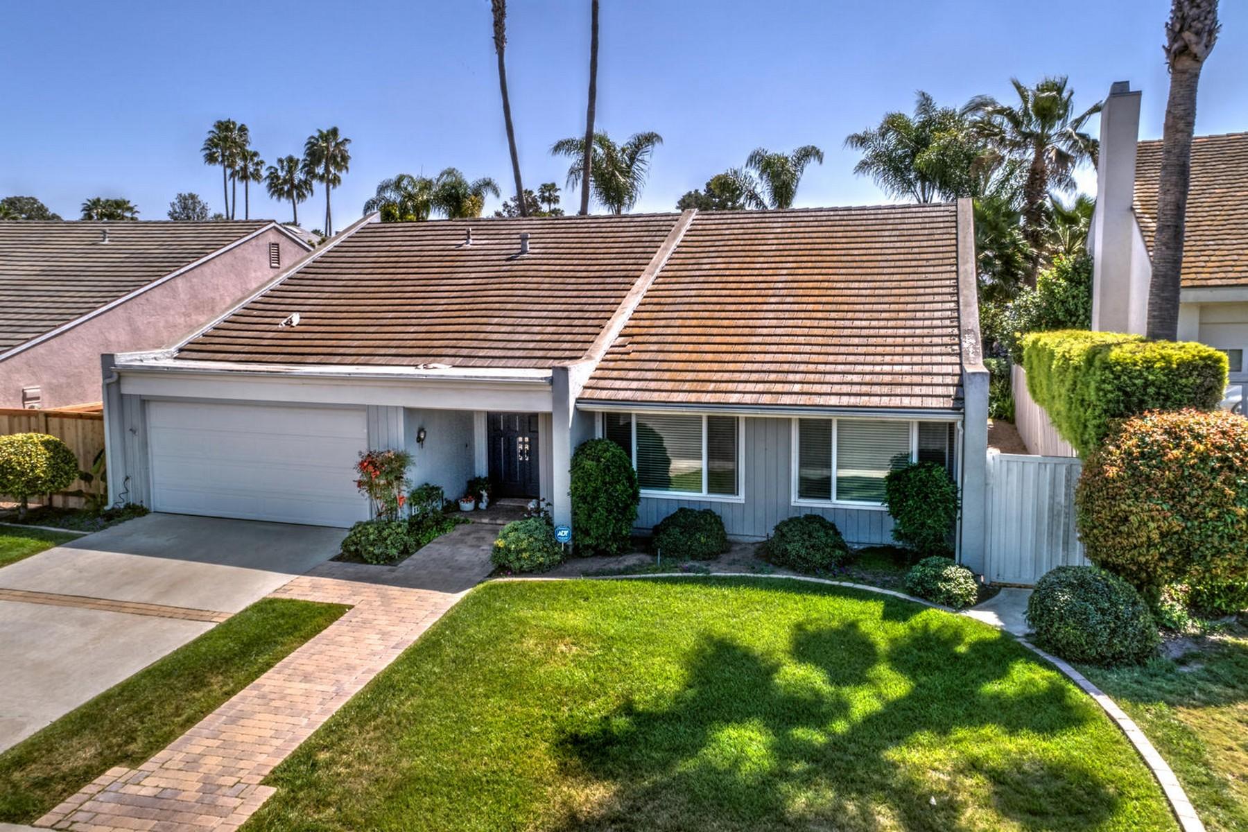 Maison unifamiliale pour l Vente à 15999 Via De Las Palmas Rancho Santa Fe, Californie, 92067 États-Unis