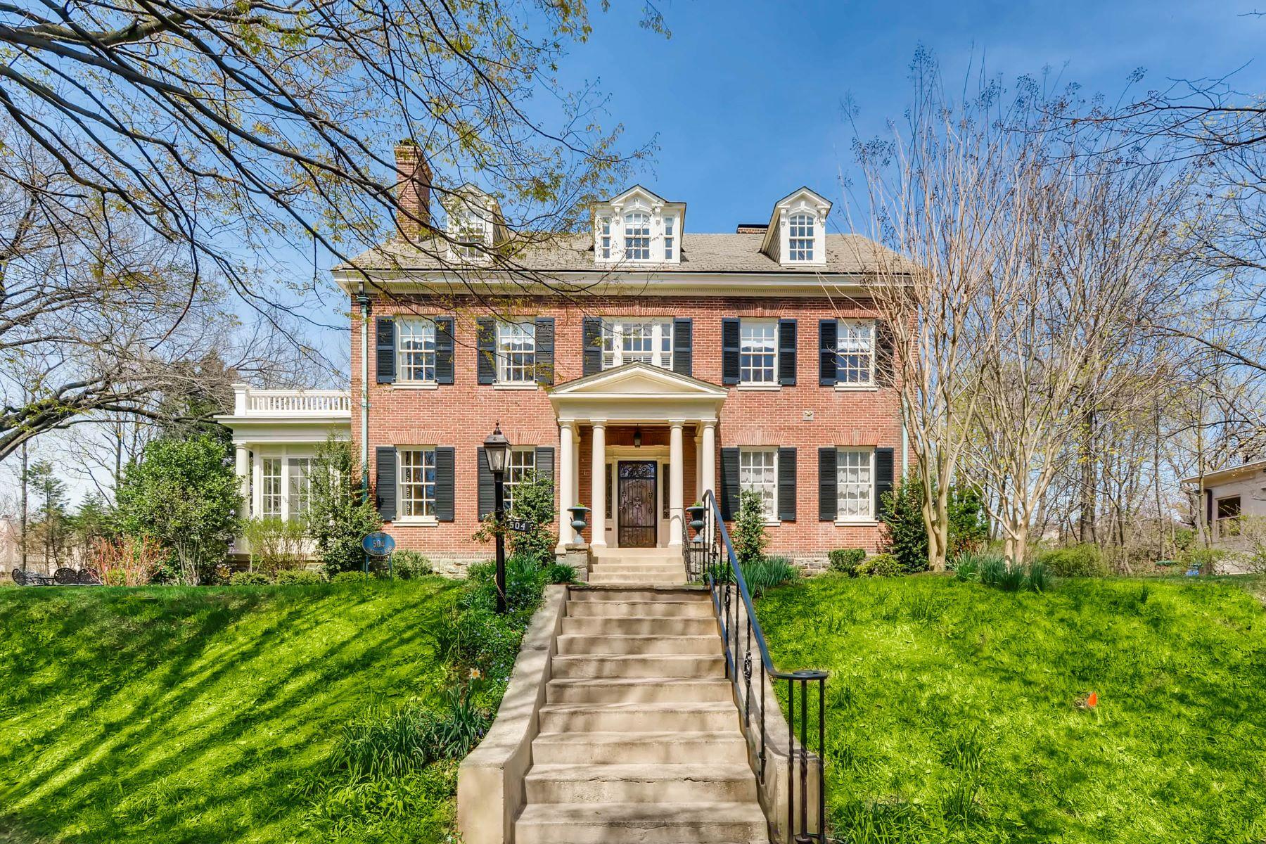 Villa per Vendita alle ore 504 Somerset Road Roland Park, Baltimore, Maryland, 21210 Stati Uniti