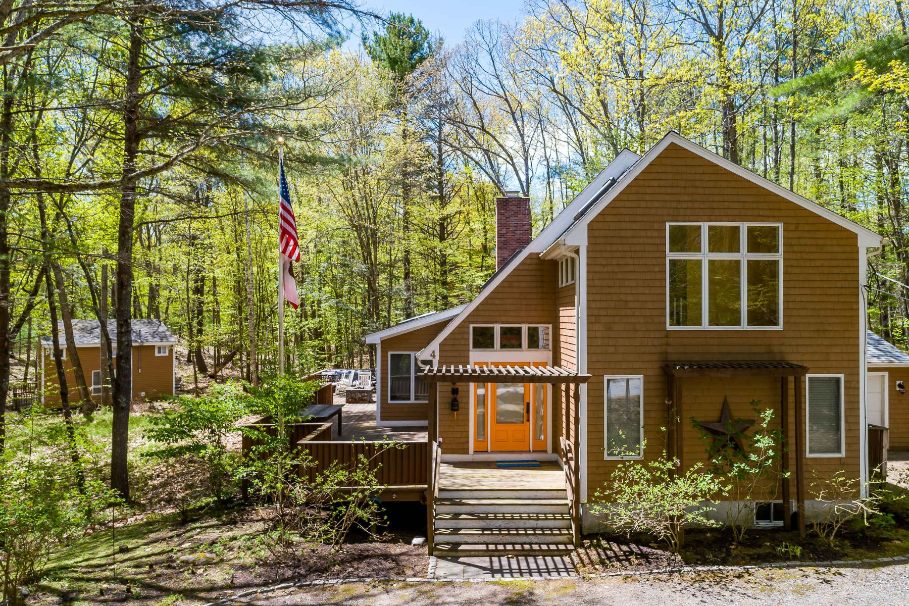 Single Family Homes for Sale at Private Cape Minutes from Beaches & Shops 4 Limestone Road Ogunquit, Maine 03907 United States