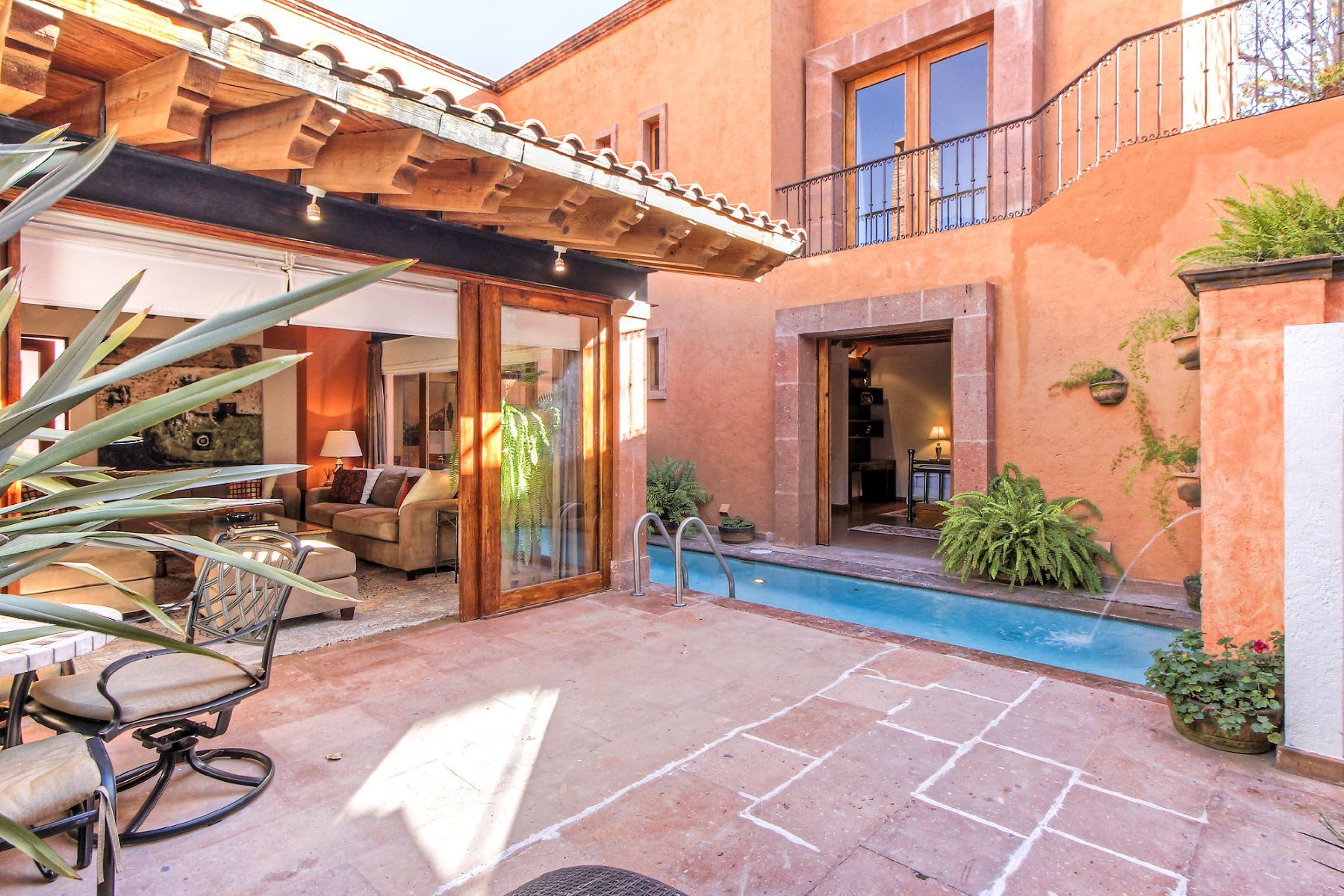 Villa per Vendita alle ore Quinta del Sol Hacienda de Santa Maria San Miguel De Allende, Guanajuato, 37700 Messico