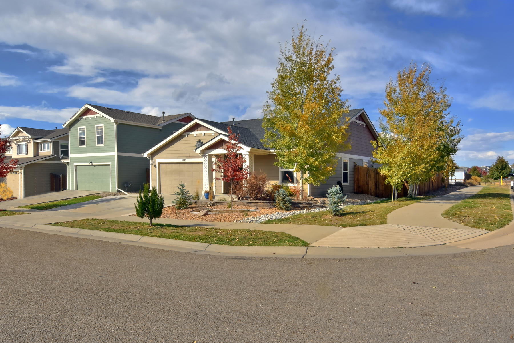 Single Family Homes 为 销售 在 Bright and Open Ranch Style Home 893 Turpin Way 伊利, 科罗拉多州 80516 美国