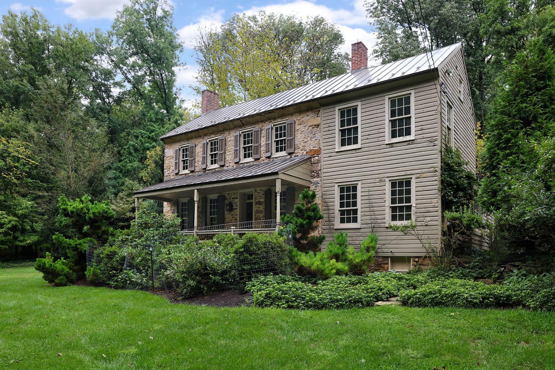 Частный односемейный дом для того Продажа на Thoroughly Captivating 41 Brookville Hollow Road, Stockton, Нью-Джерси 08559 Соединенные ШтатыВ/Около: Delaware Township