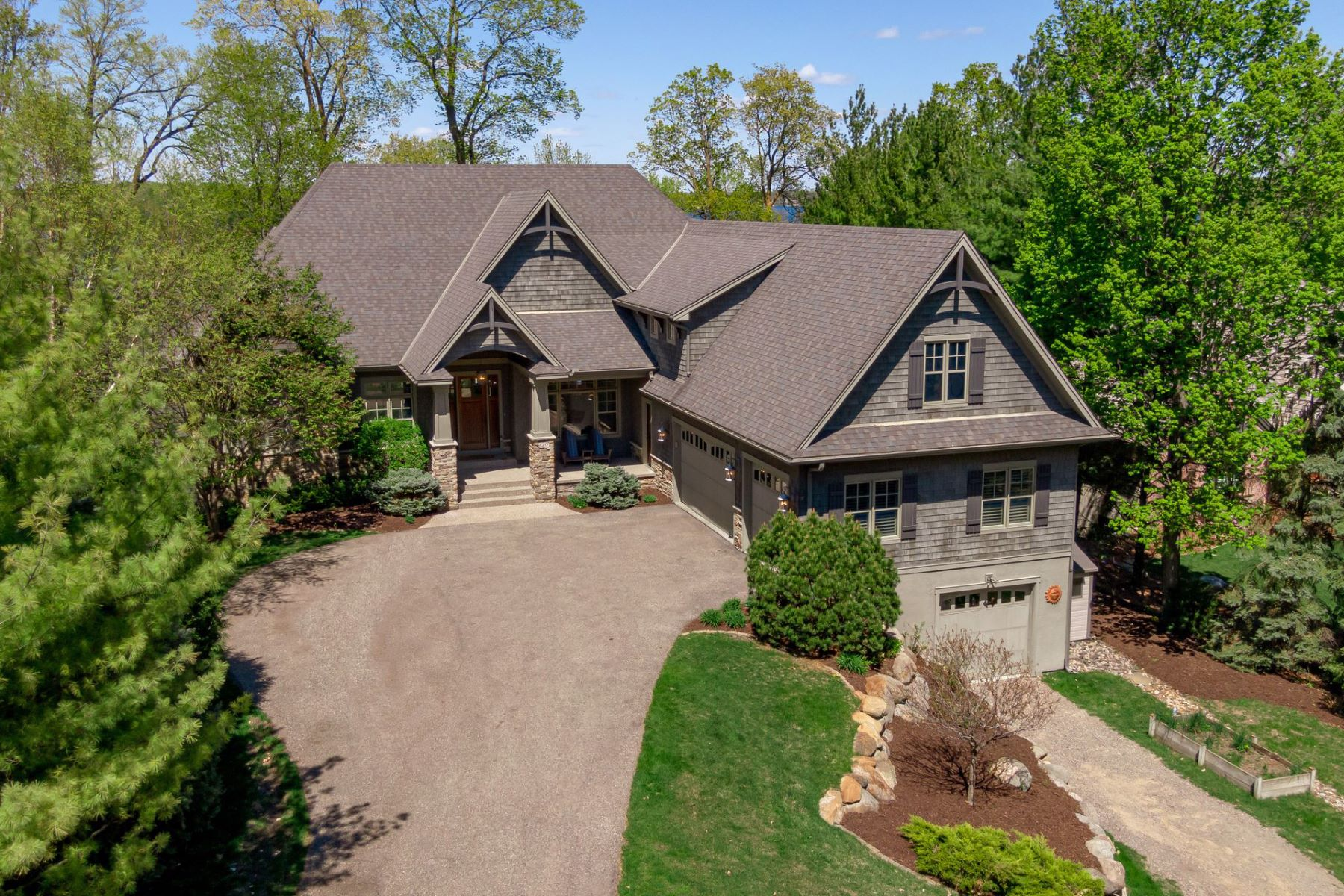 Single Family Homes for Sale at Over 100 Feet of Lake Minnetonka Lakeshore; Turnkey Home with Designer Details 6387 Cliffwood Circle Victoria, Minnesota 55331 United States