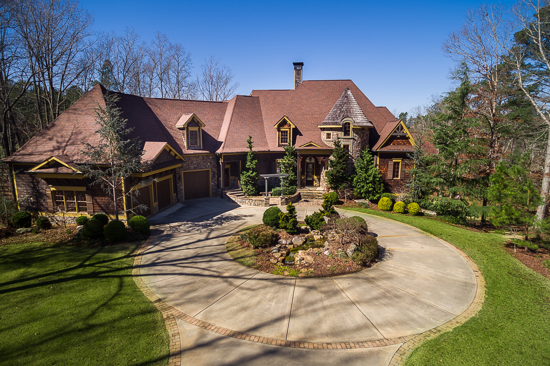 Eensgezinswoning voor Verkoop een t Incomparable Golf Course Estate in Arbor Springs Plantation 92 Green Summit Newnan, Georgië 30265 Verenigde Staten