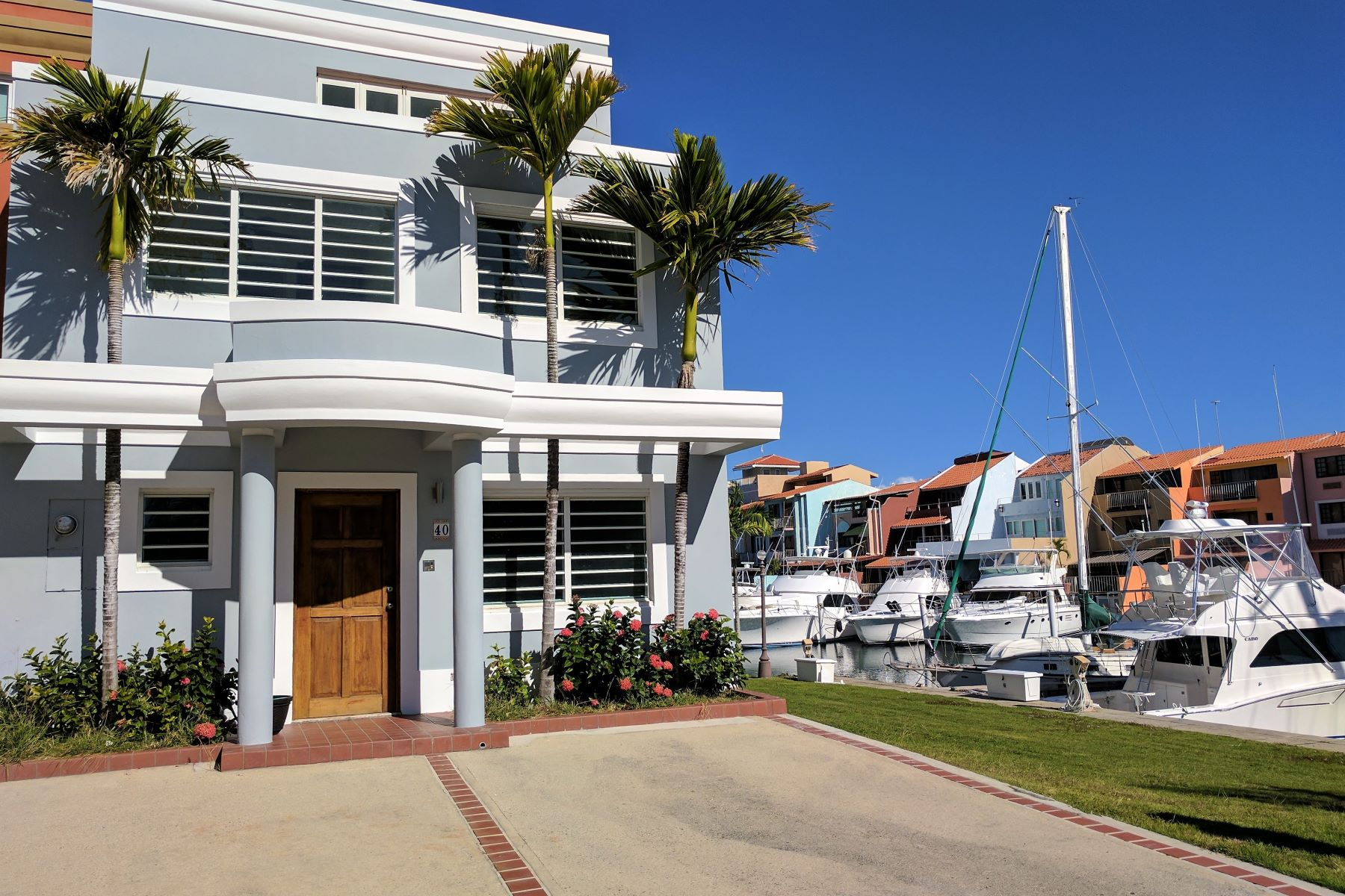 Townhouse for Sale at Waterfront Boaters Townhome at Peninsula 39 Peninsula de San Juan Palmas Del Mar, 00791 Puerto Rico