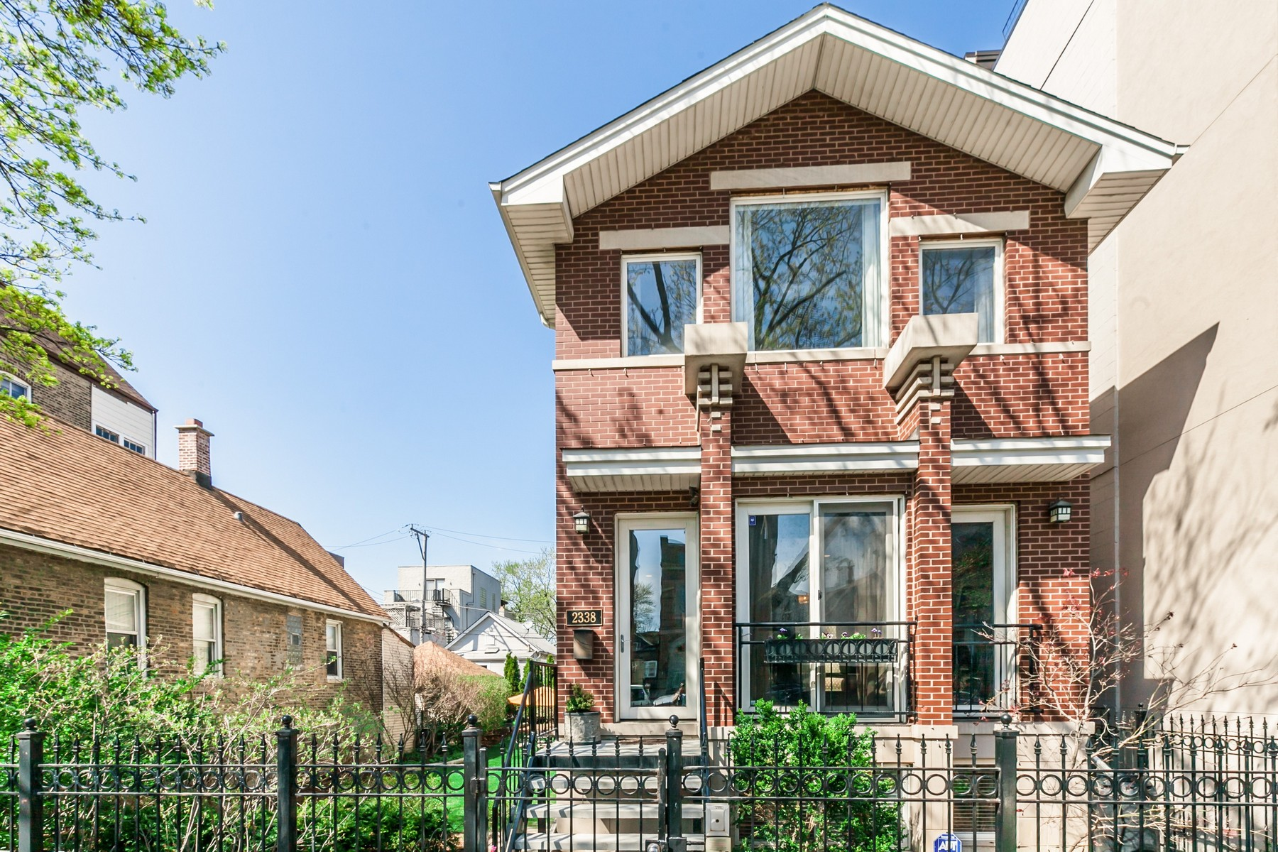 Single Family Home for Sale at Unique Opportunity in the Heart of Bucktown 2338 W Lyndale Street Logan Square, Chicago, Illinois, 60647 United States