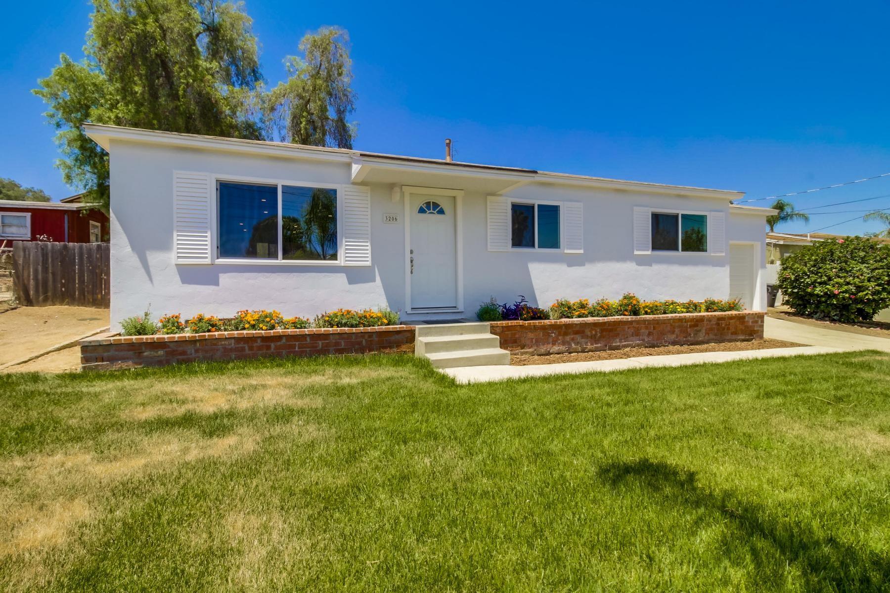Single Family Home for Sale at 3206 Citrus Street Lemon Grove, California, 91945 United States