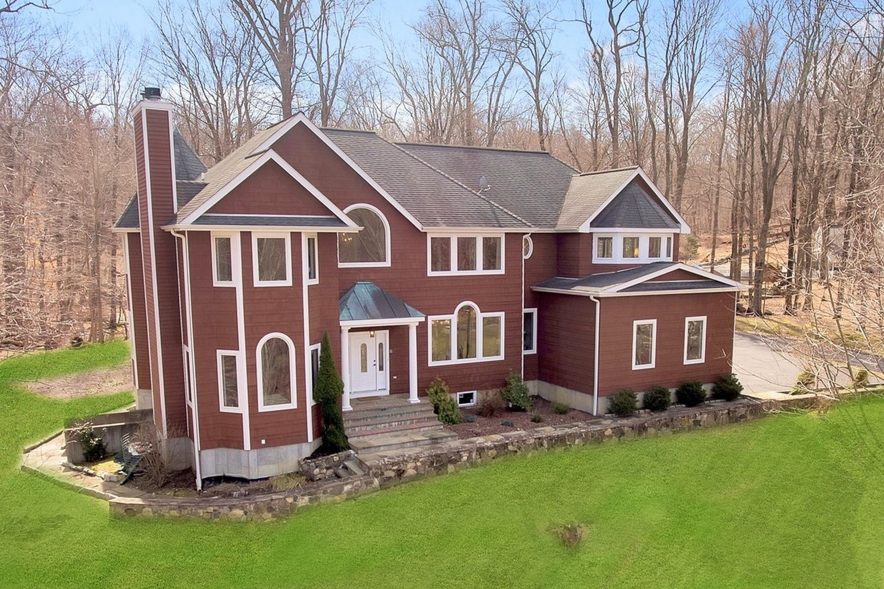 Single Family Homes for Sale at Stately Colabaugh Pond Retreat 181 Colabaugh Pond Road Croton On Hudson, New York 10520 United States