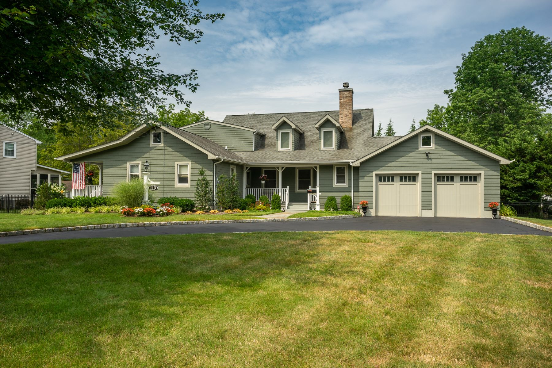 Single Family Homes for Sale at Turn Key Custom Home 119 Crescent Road, Florham Park, New Jersey 07932 United States