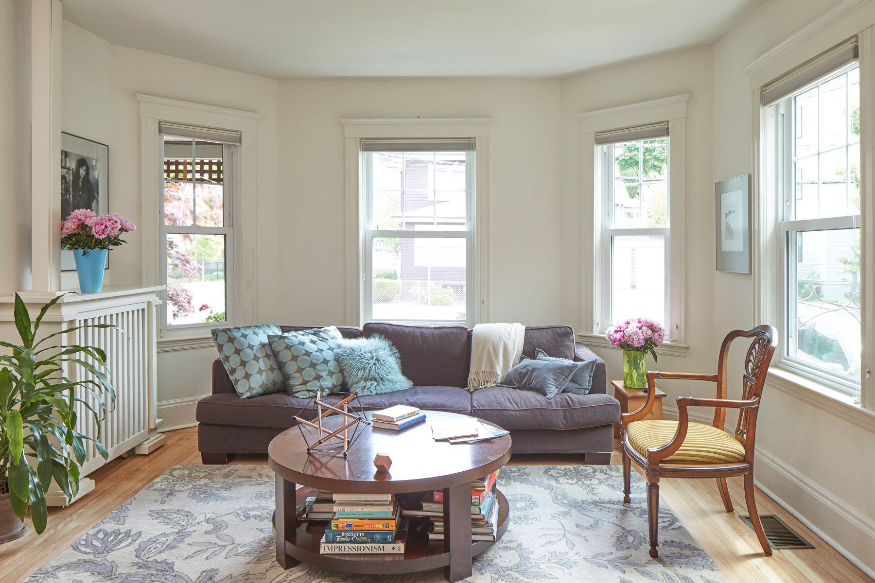 Condominiums pour l Vente à 421 Walden Street, Unit 1 421 Walden Street Unit 1 Cambridge, Massachusetts 02138 États-Unis