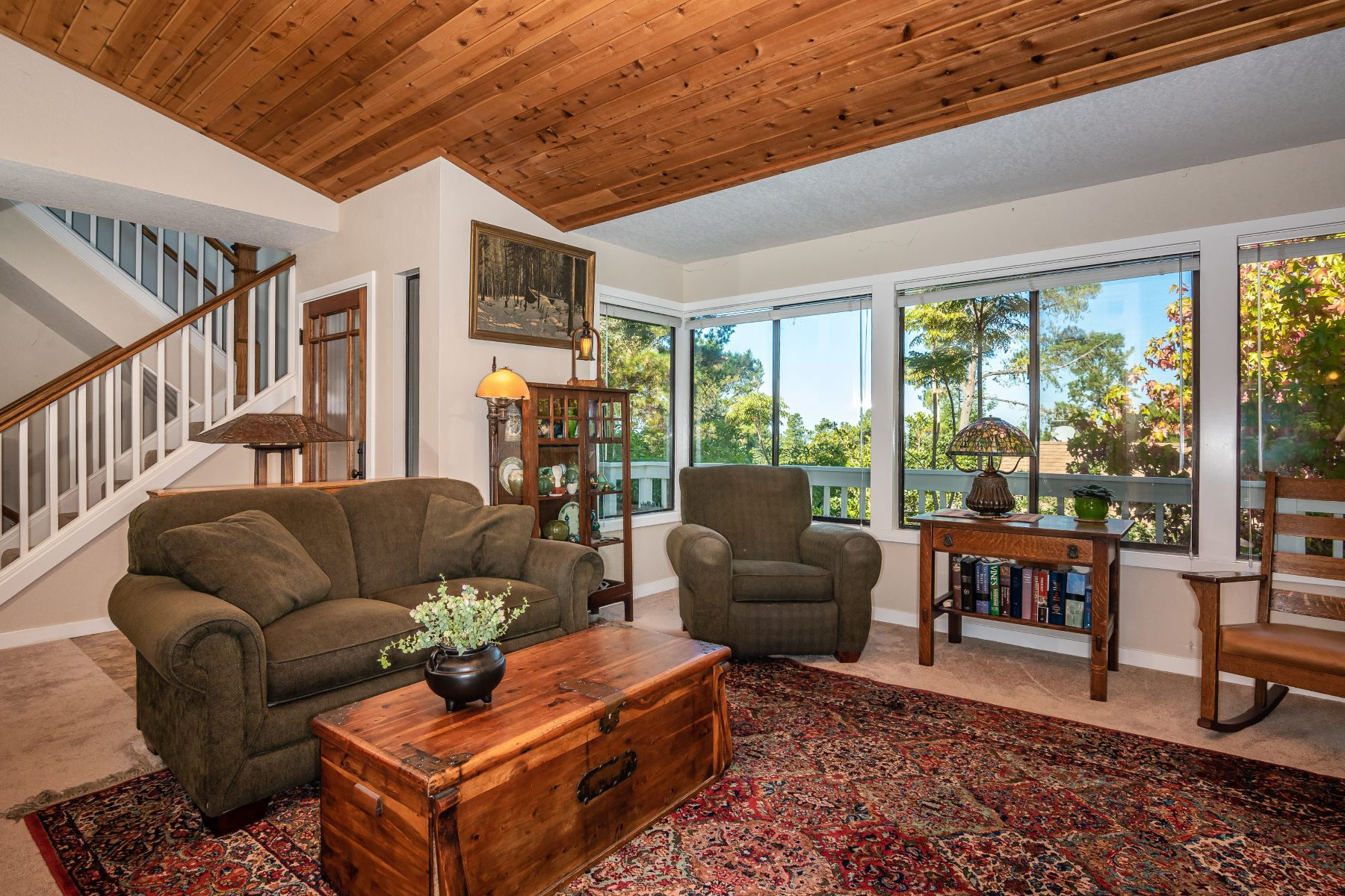 Single Family Homes for Sale at Craftsman Charm With Views 1625 Norwich Cambria, California 93428 United States