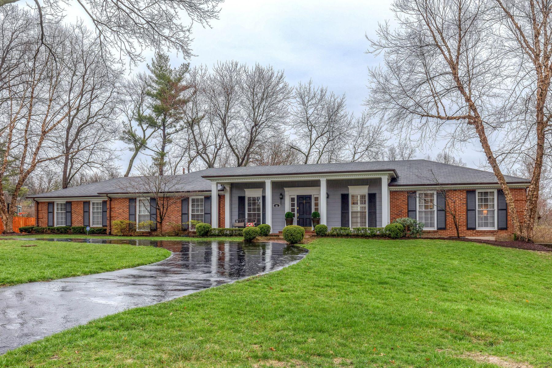 一戸建て のために 売買 アット Salem Estates 46 Salem Estates, Ladue, ミズーリ, 63124 アメリカ合衆国