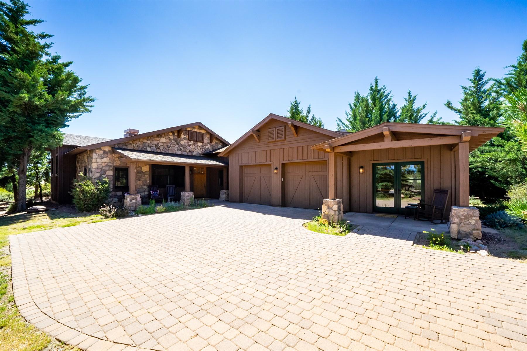 Single Family Homes for Sale at Talking Rock 11765 W Lost Man Canyon Way Prescott, Arizona 86305 United States