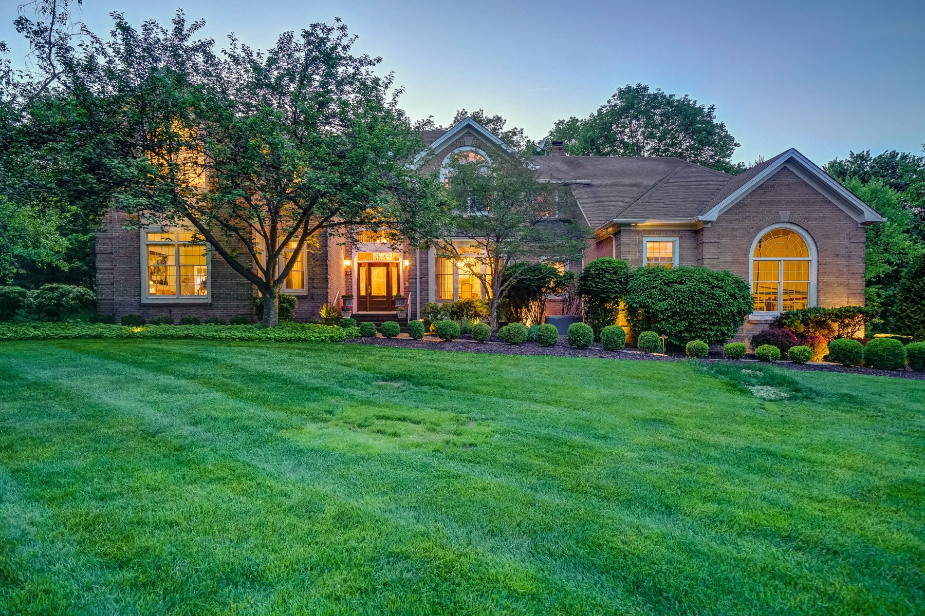 Single Family Home for Sale at Elegant Colonial 14 Heath Drive Bridgewater, New Jersey 08807 United States