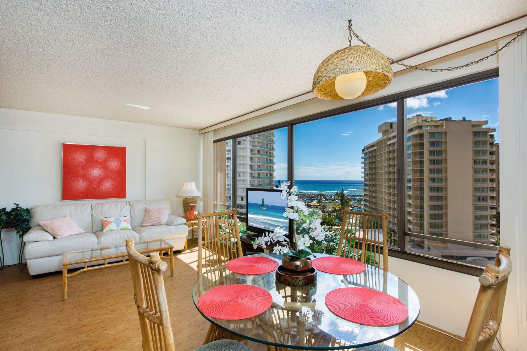Condominio por un Venta en Discover Waikiki 1778 Ala Moana Boulevard #1419 Waikiki, Honolulu, Hawaii, 96815 Estados Unidos