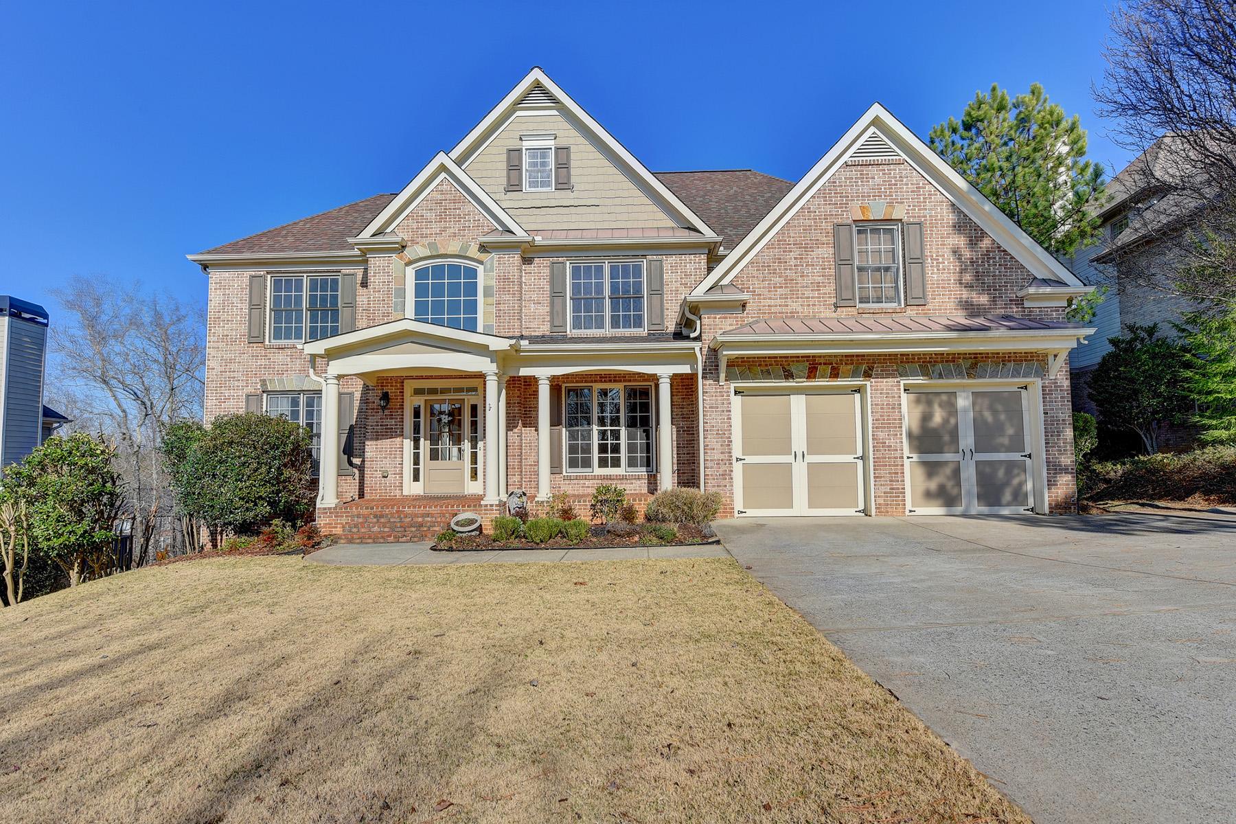 """Single Family Homes per Vendita alle ore """"Nature"""" In Sugar Hill Home 225 Beech Tree Hollow, Sugar Hill, Georgia 30518 Stati Uniti"""