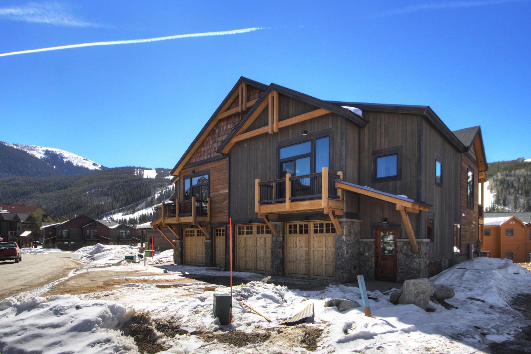 Dubleks için Satış at River Run Townhomes #89 89 Erickson Loop Unit 7B, Keystone, Colorado, 80435 Amerika Birleşik Devletleri