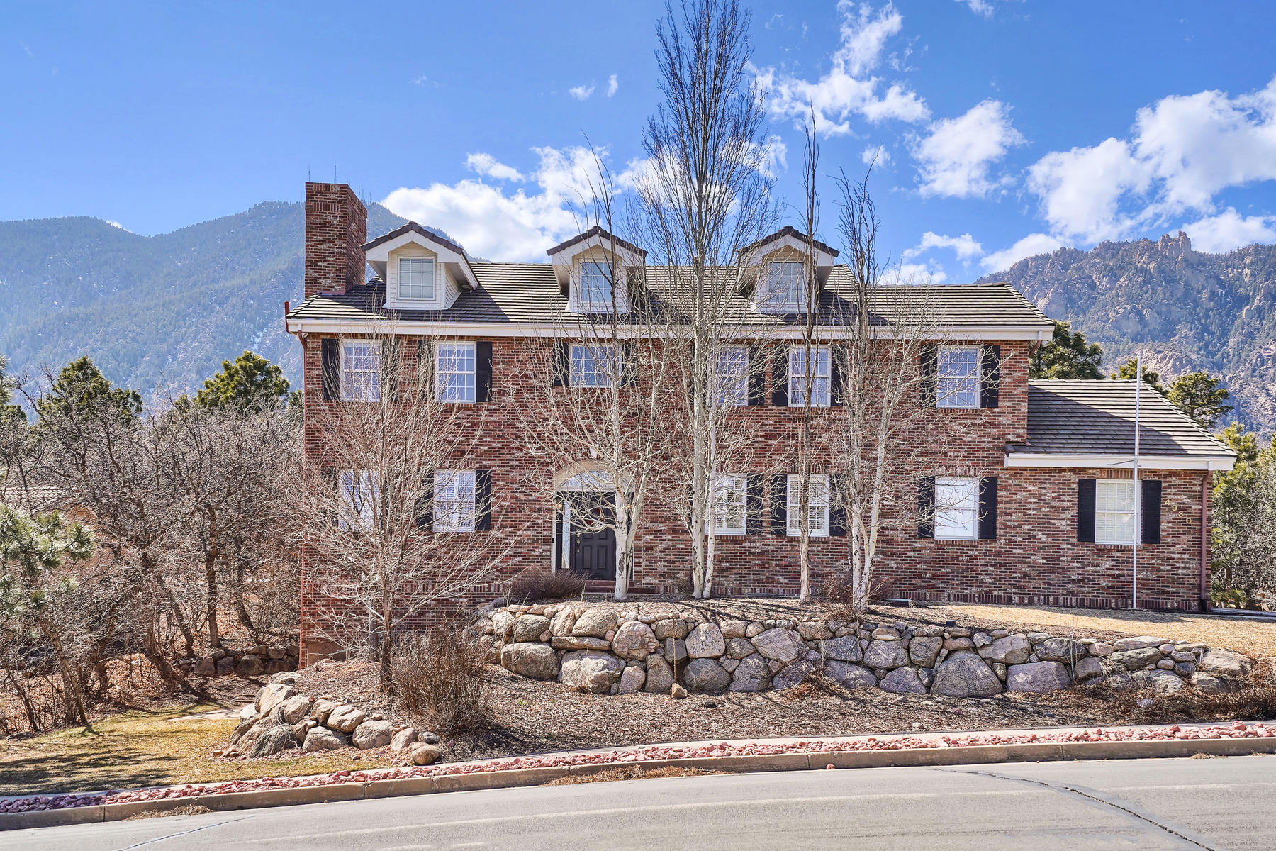 Single Family Homes for Sale at BEAUTIFUL ALL BRICK 2 STORY 4930 Langdale Way Colorado Springs, Colorado 80906 United States