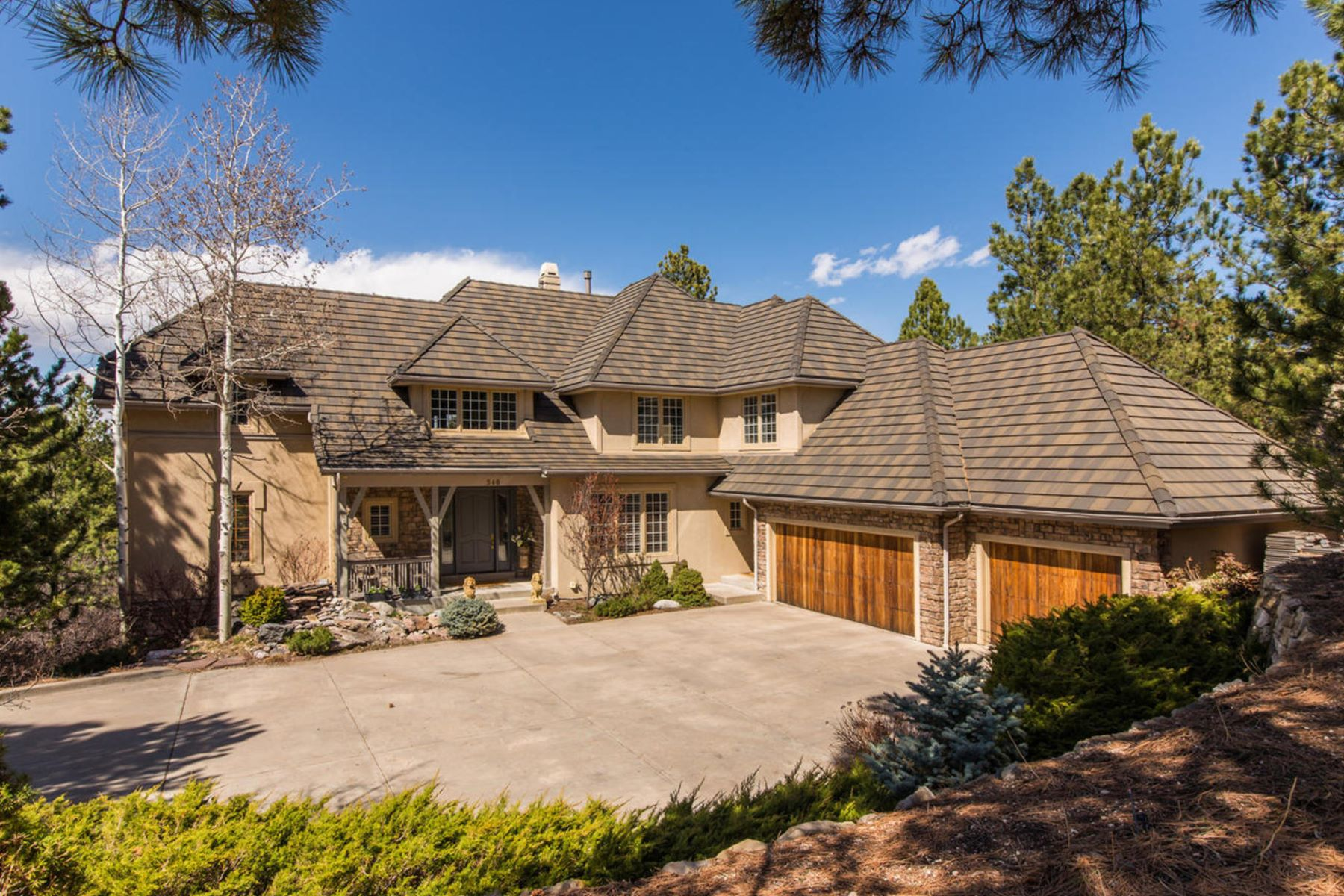 Single Family Home for Sale at 340 Tamasoa Pl Castle Pines Village, Castle Rock, Colorado, 80108 United States