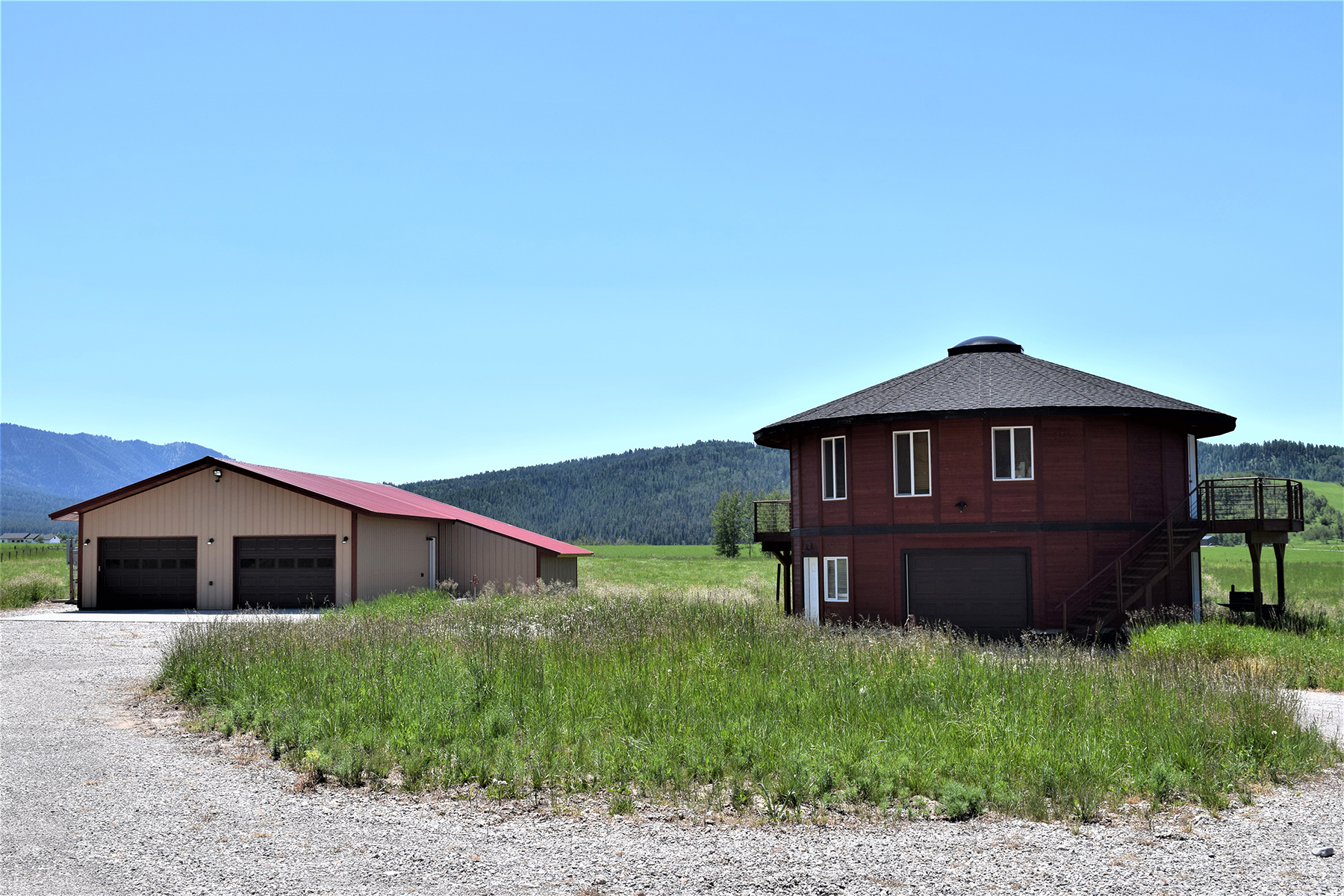 Single Family Homes للـ Sale في Turnerville Home and Acreage 120 Zella CT, Bedford, Wyoming 83112 United States