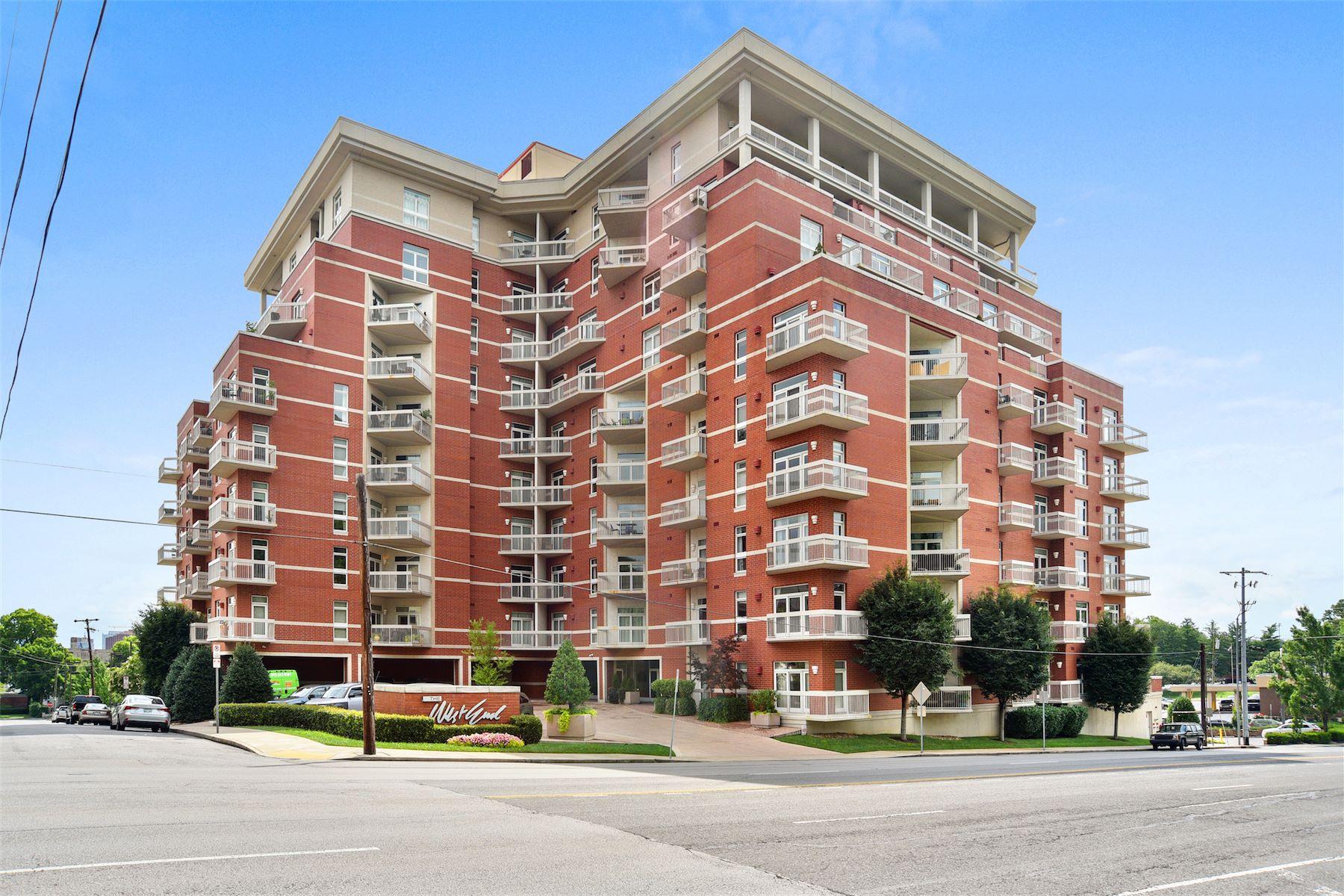 Eigentumswohnung für Verkauf beim Luxury Condo with Two Bedrooms and Two Bathrooms 110 31st Avenue North #205 Nashville, Tennessee, 37203 South, Vereinigte Staaten