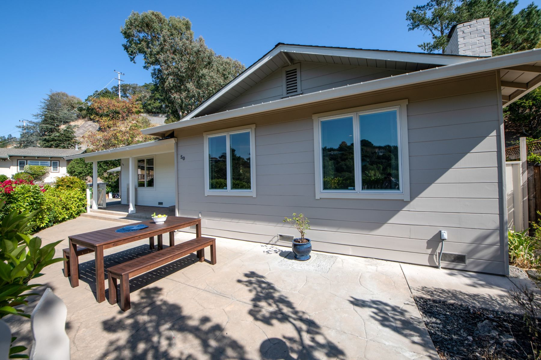 Single Family Homes for Sale at Beautifully Updated Home with Stunning Views of Mt. Tam 50 Via Cheparro Greenbrae, California 94904 United States