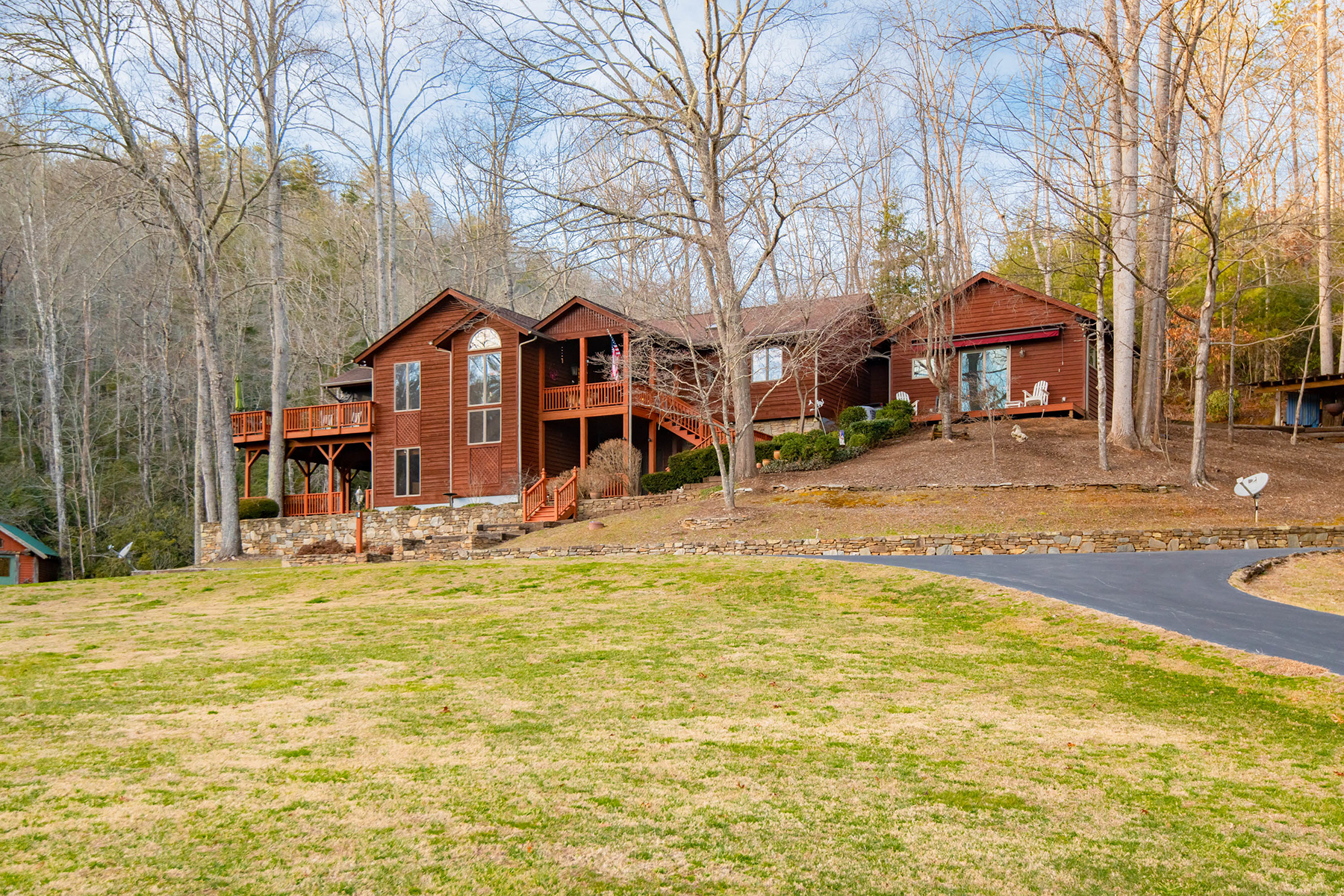 Single Family Homes for Active at PISGAH FOREST 1393 King Rd Pisgah Forest, North Carolina 28768 United States